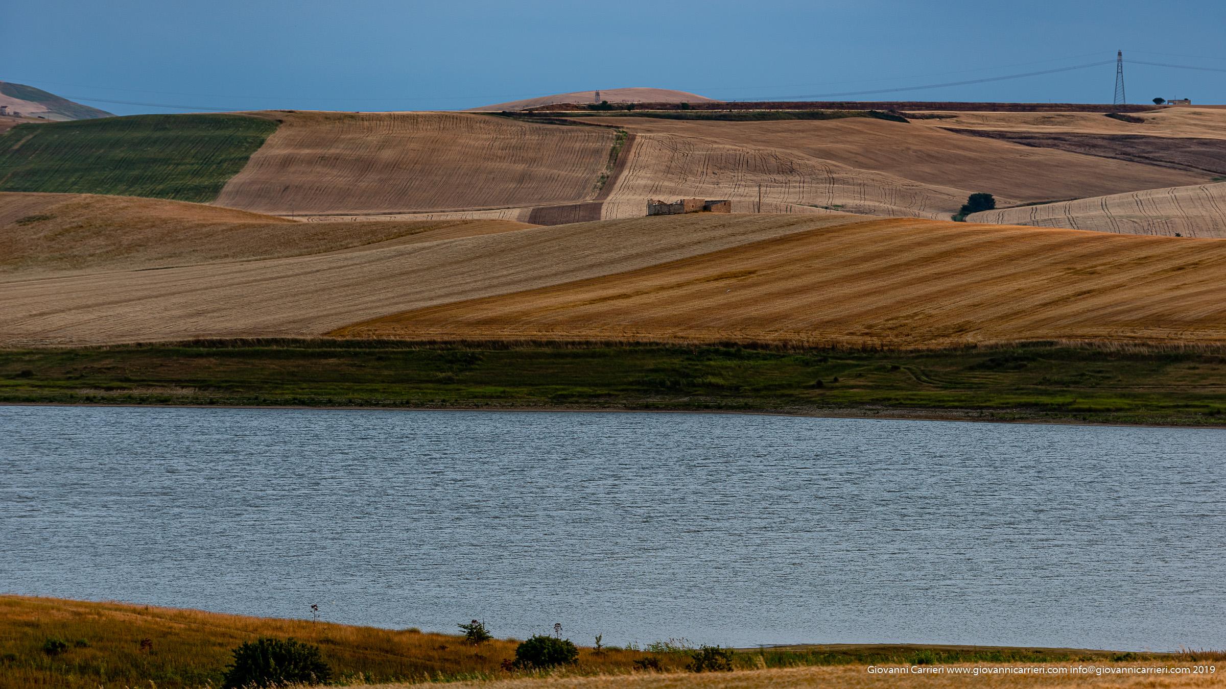 The lake of Serra del Corvo