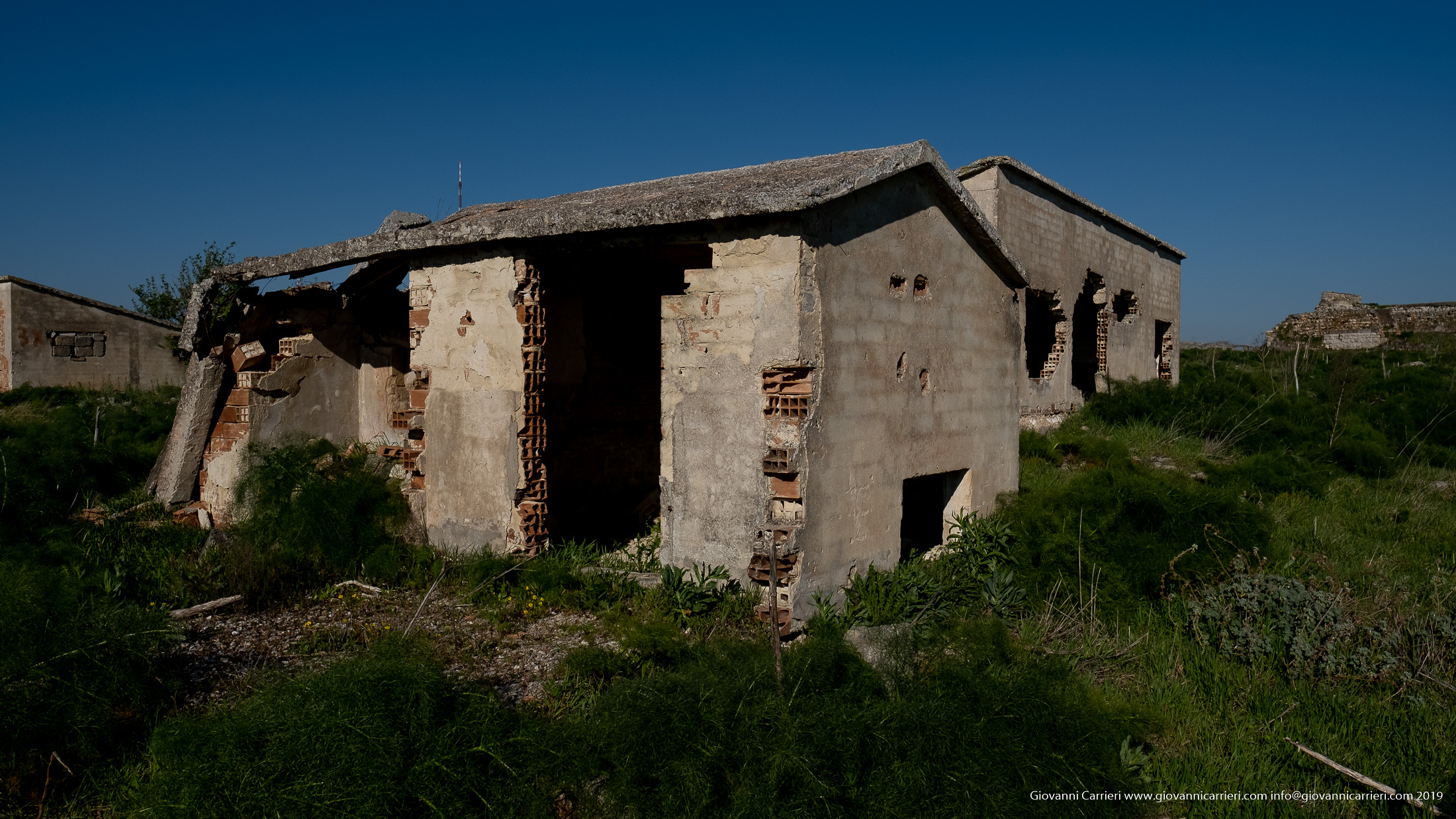 Series of Ruins of Mount Caccia