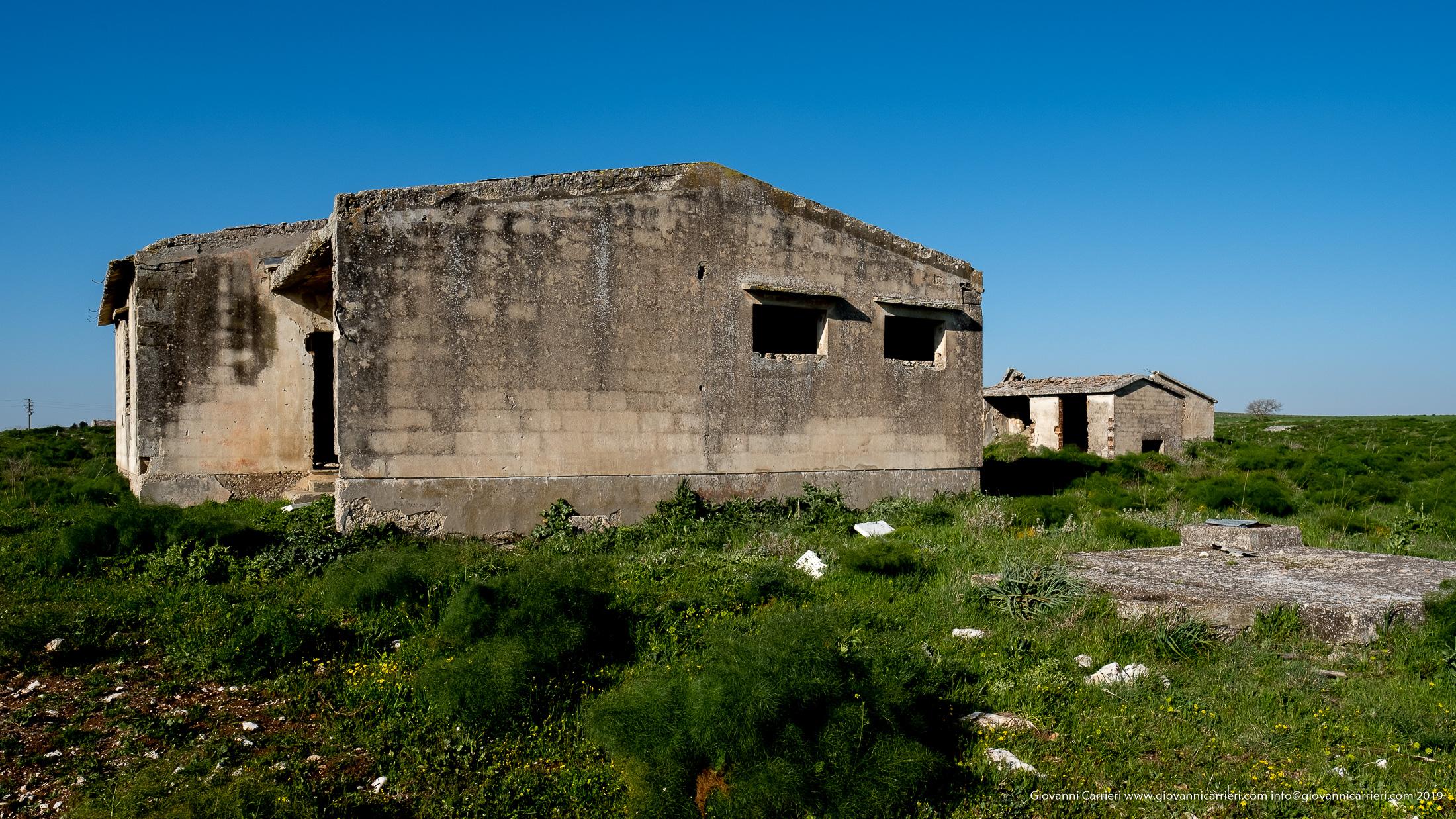 Le case abbandonate della riforma agraria