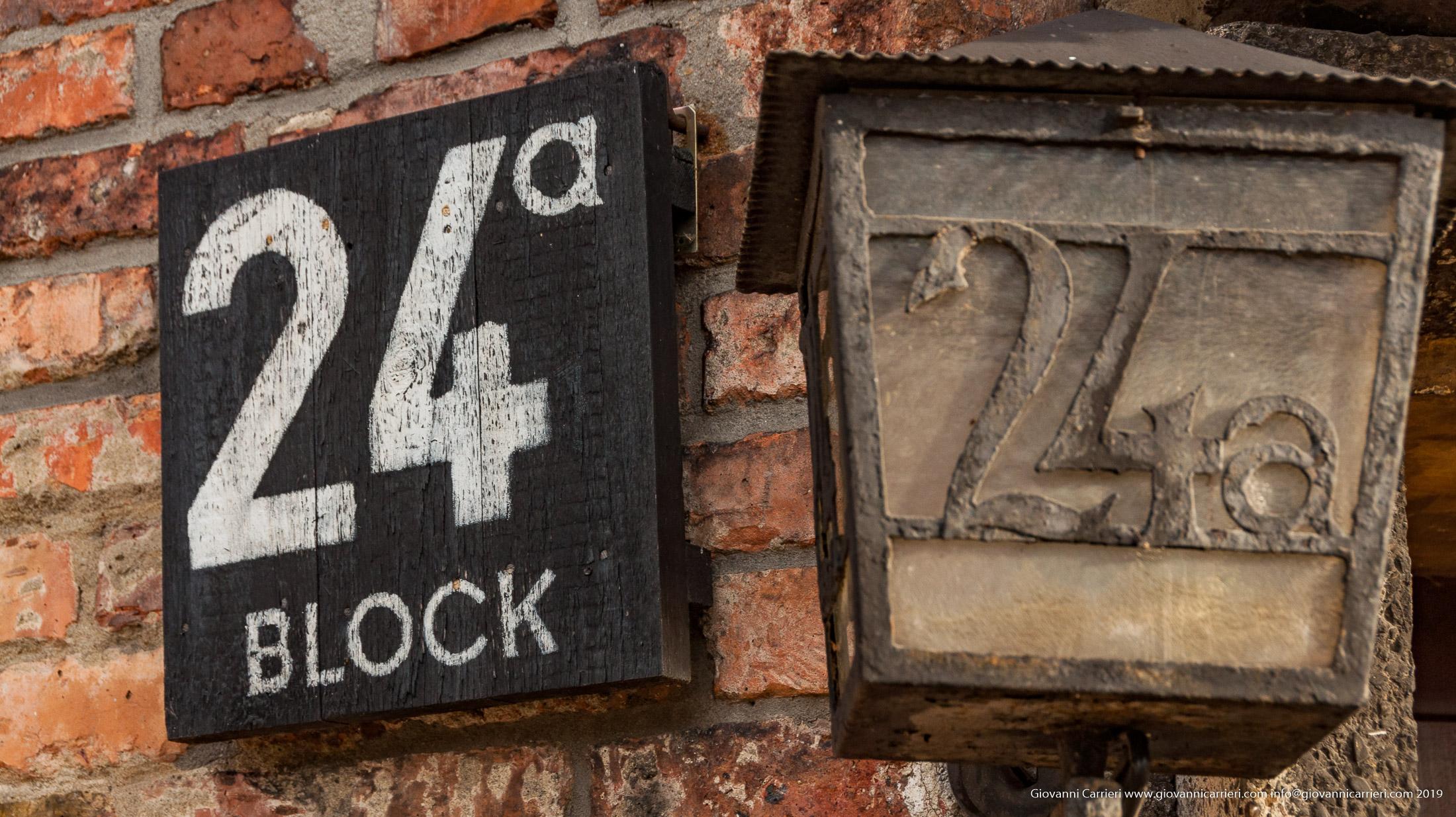Blocco 24 - Auschwitz
