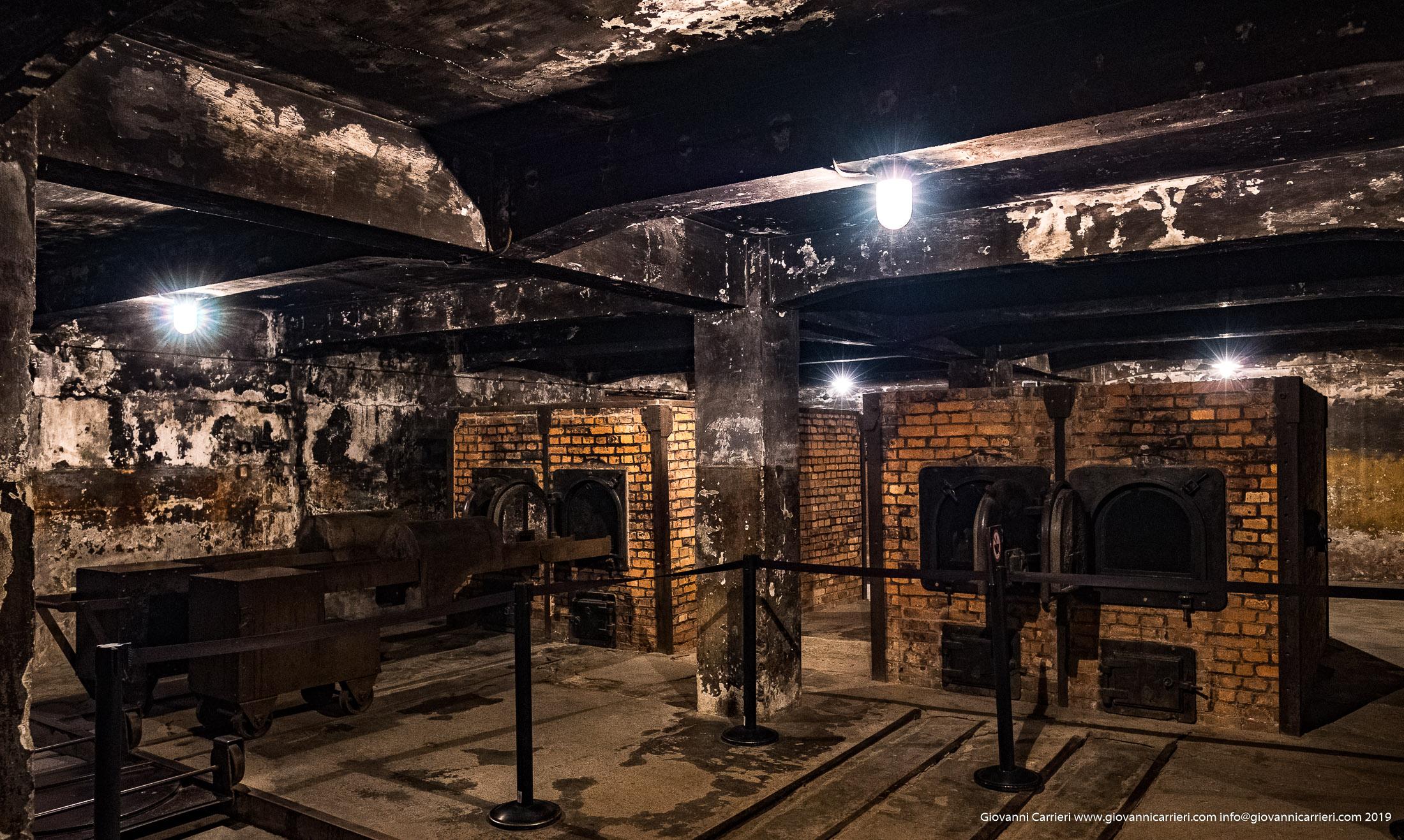 Crematorio  - Auschwitz