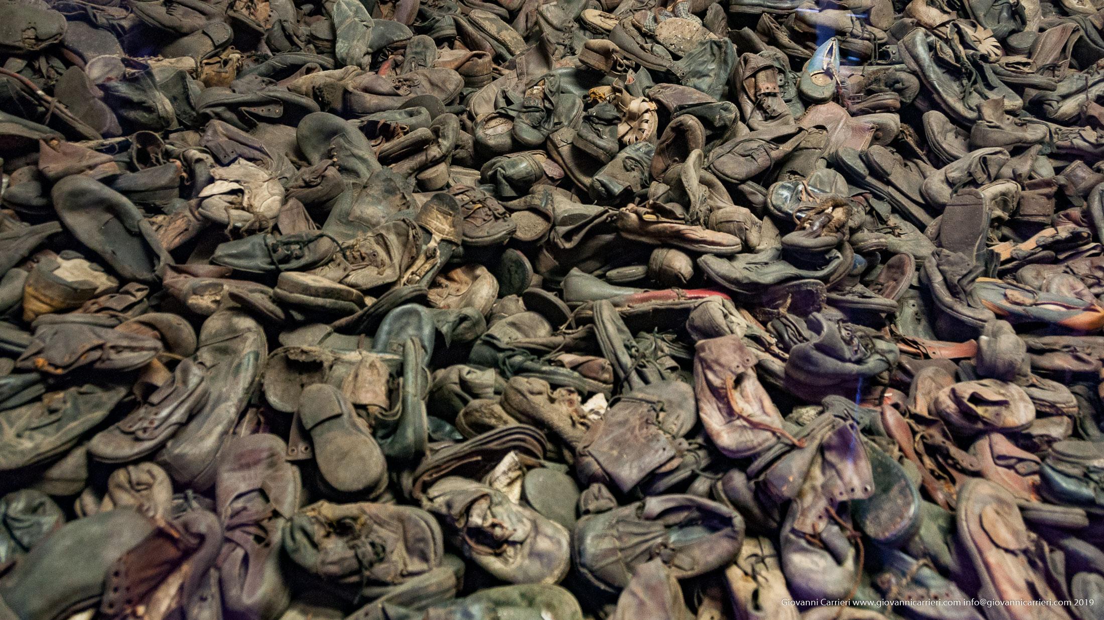 Scarpe rubate - Auschwitz