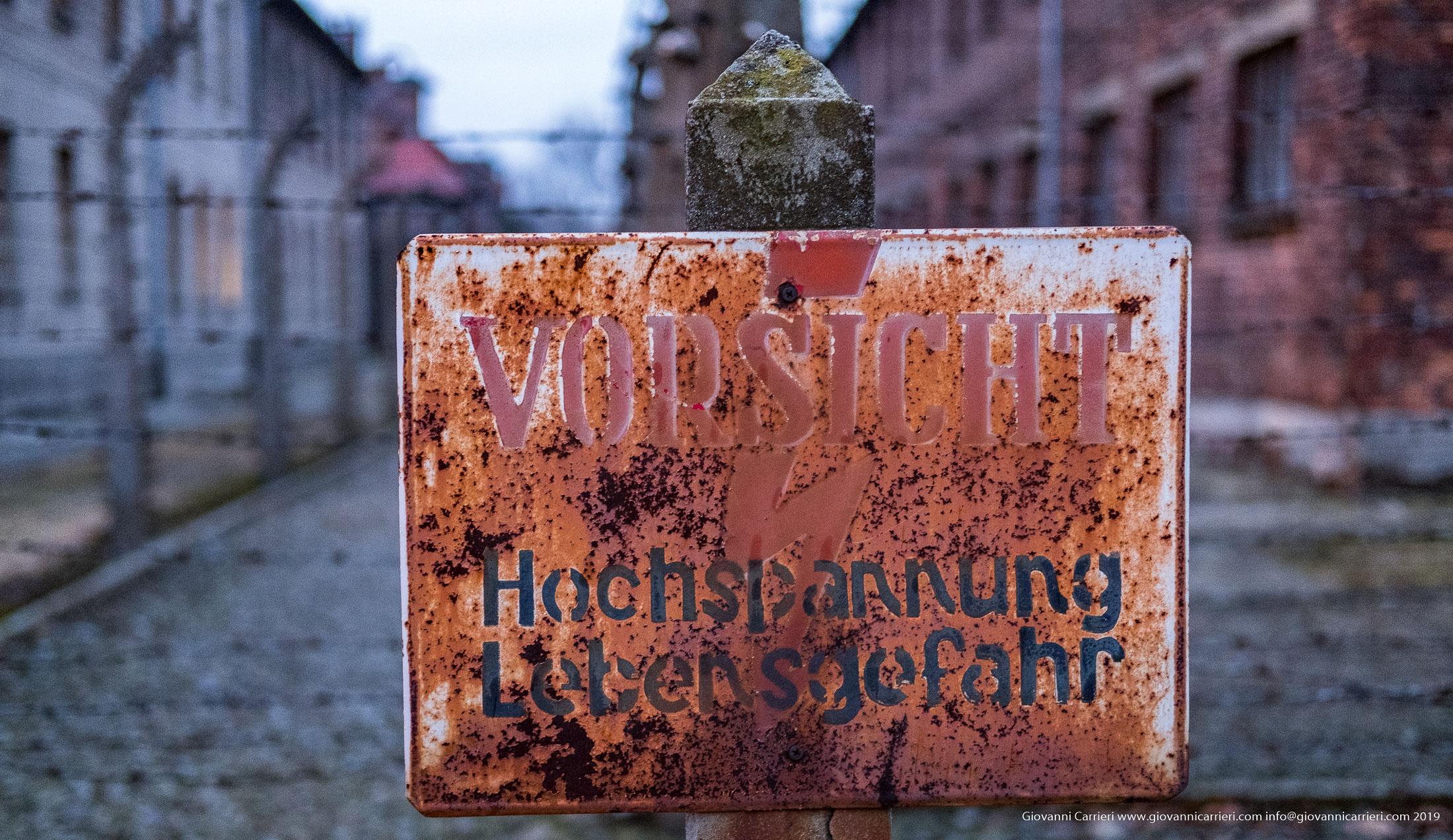 Attenzione - Auschwitz