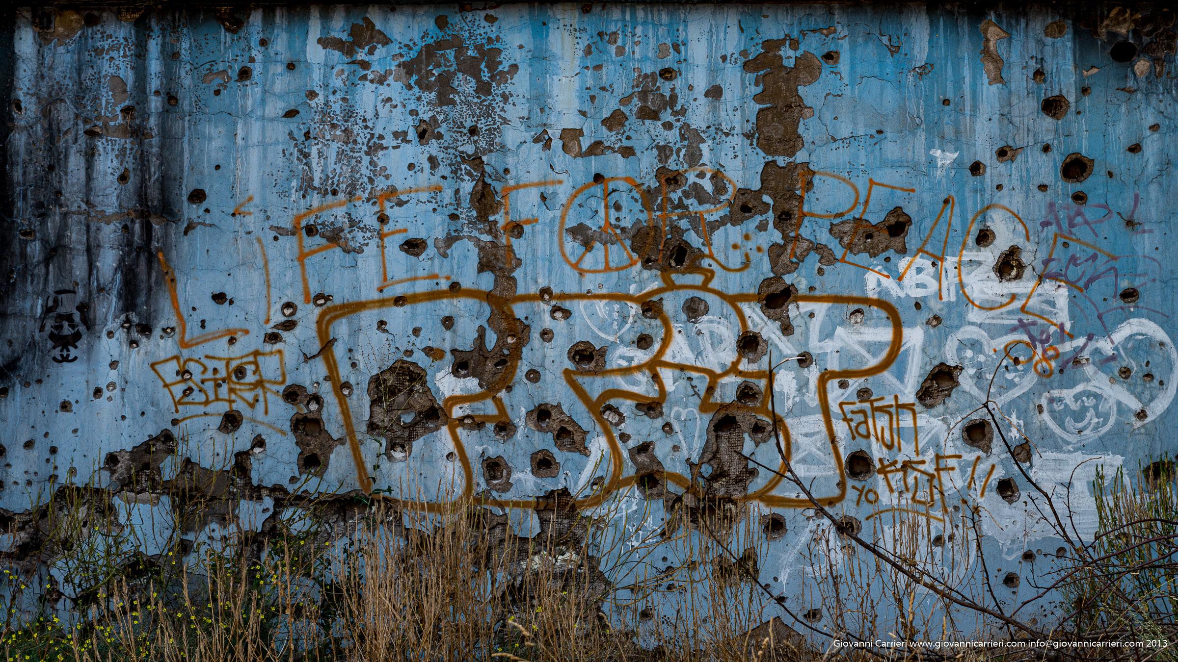 Muro bersagliato
