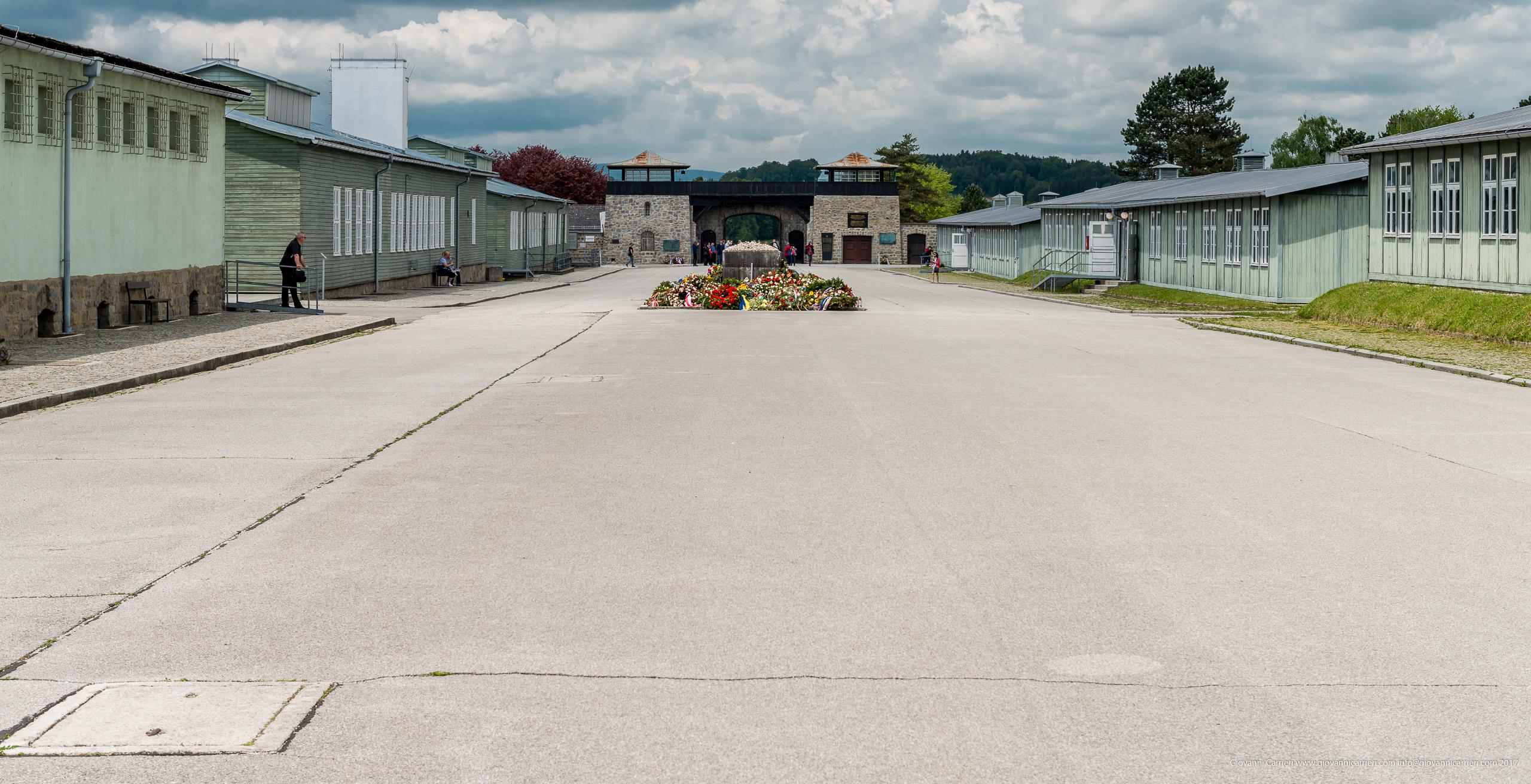 La piazza dell'appello di Mauthausen, Appellplatz
