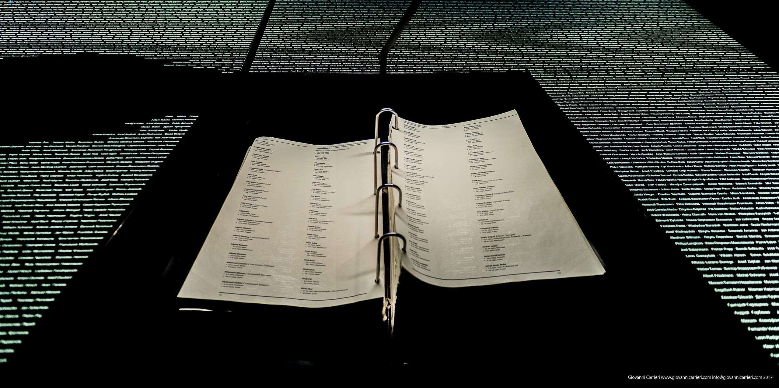 Il libro delle vittime di Mauthausen