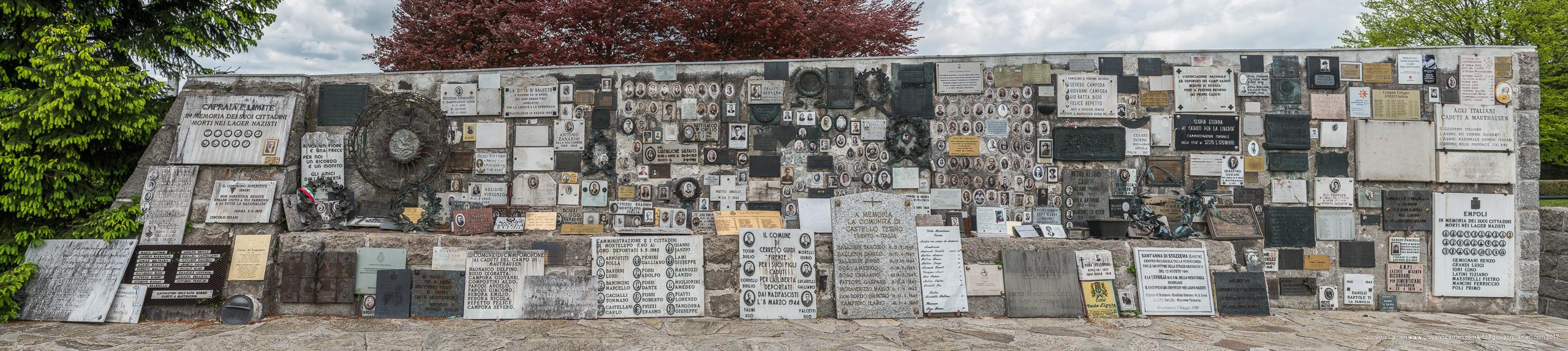 Il muro italiano. Memoriale degli italiani morti a Mauthausen