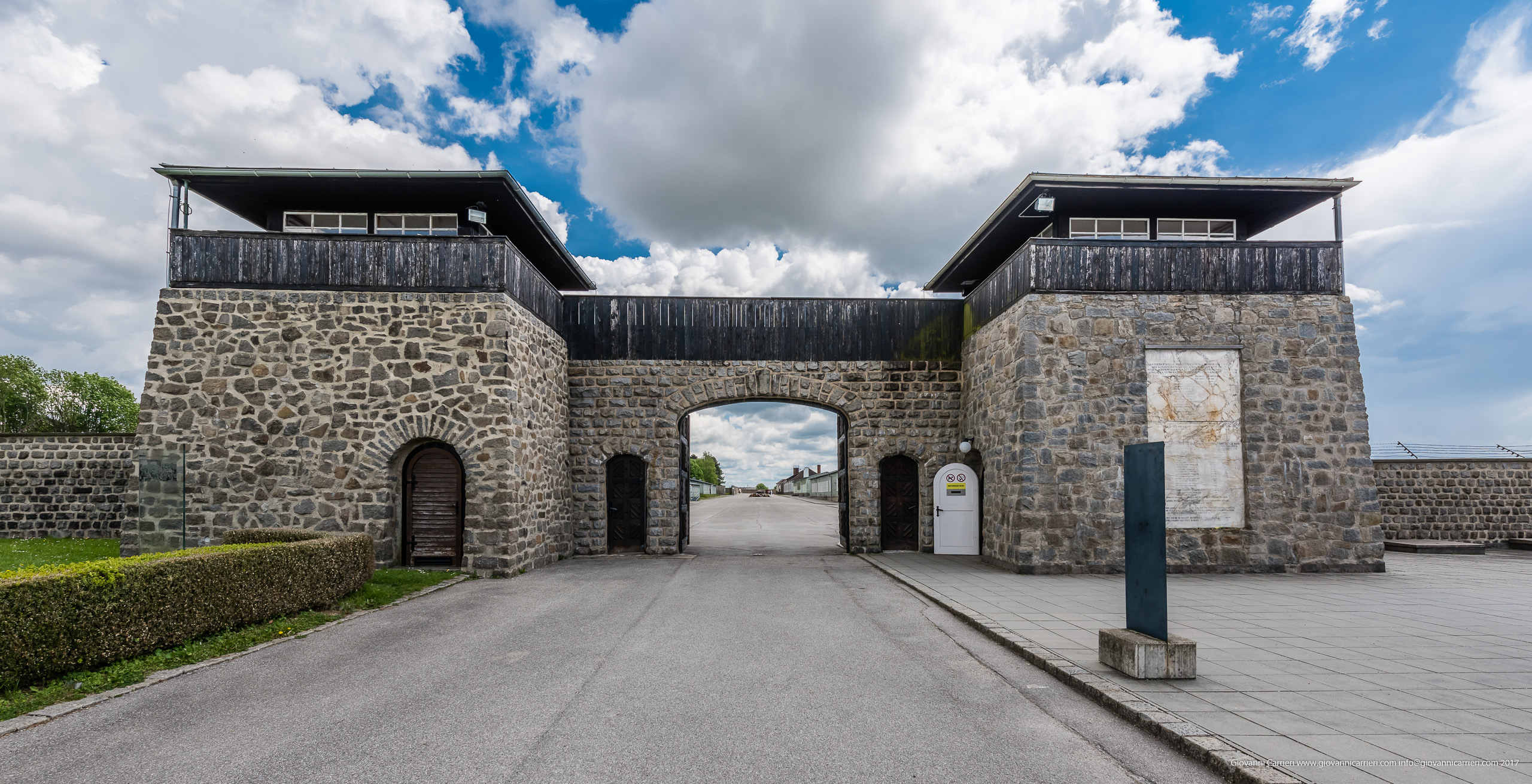 KZ Mauthausen concentration camp