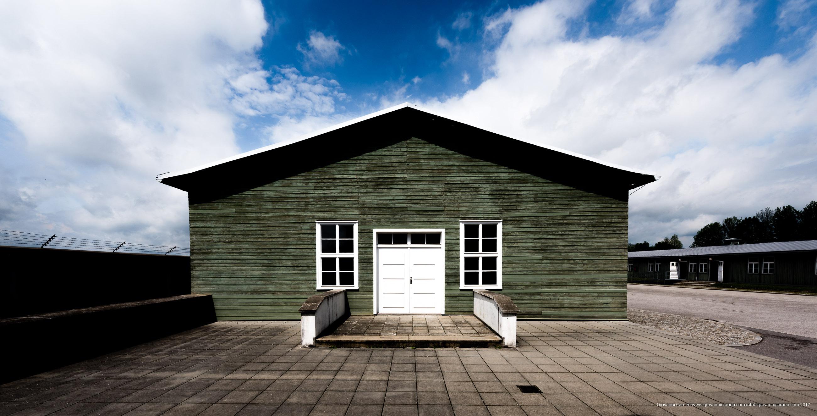 Una baracca di Mauthausen