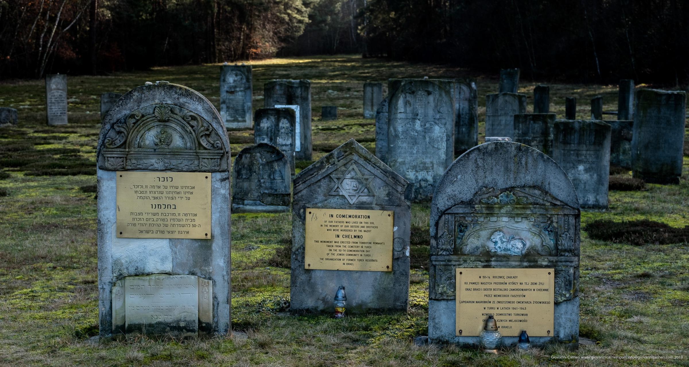 Lapidi commemorative nel campo di sterminio di Chełmno