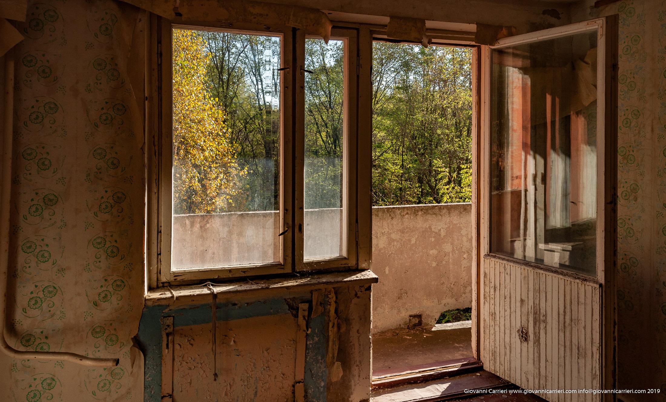 Un balcone abbandonato