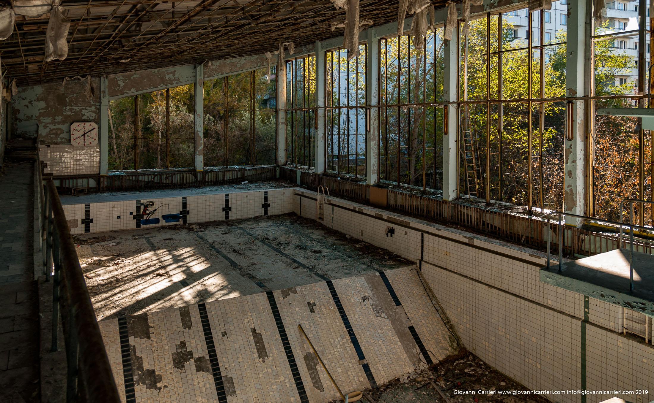 La piscina azzurra