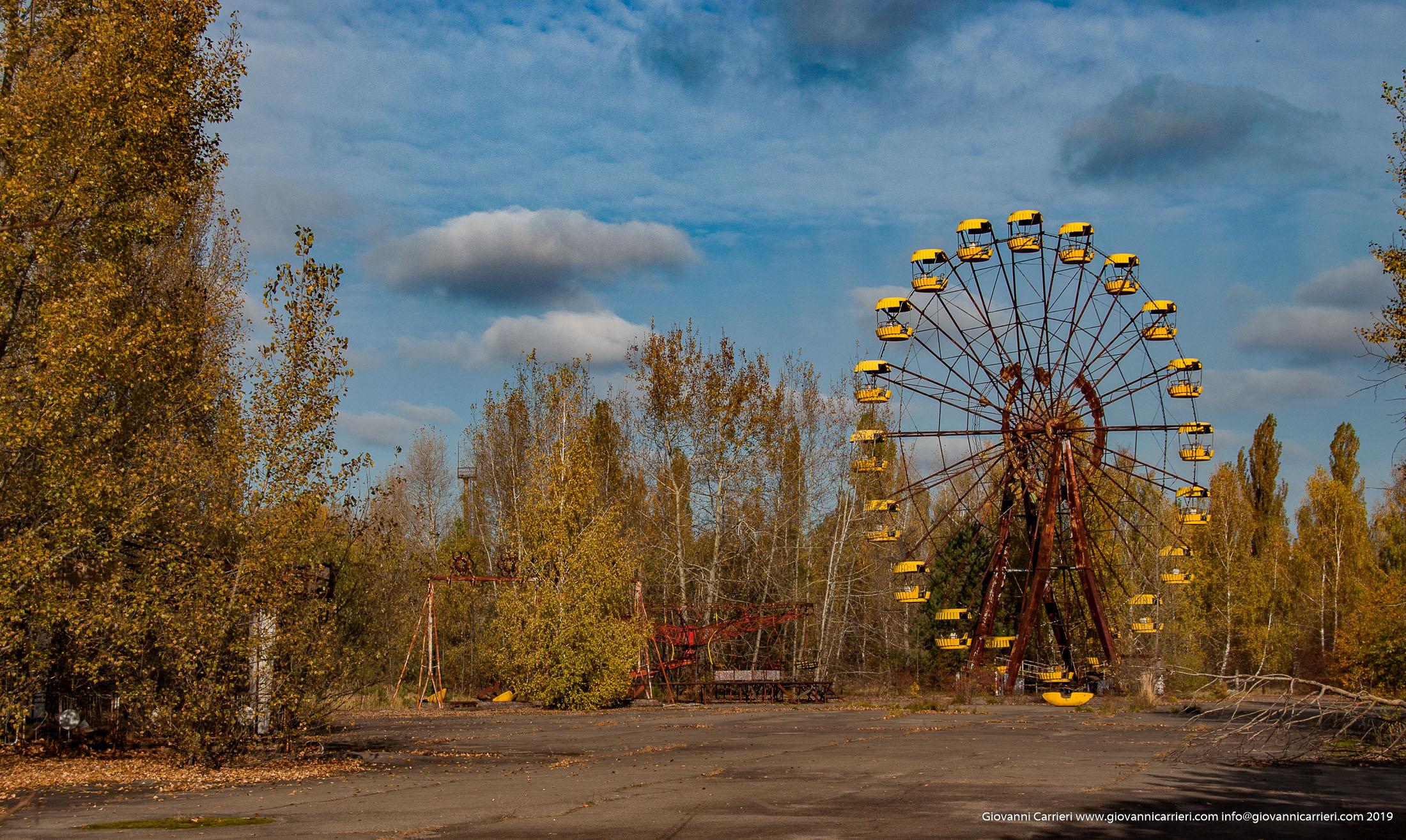 Il parco giochi di Prypjat