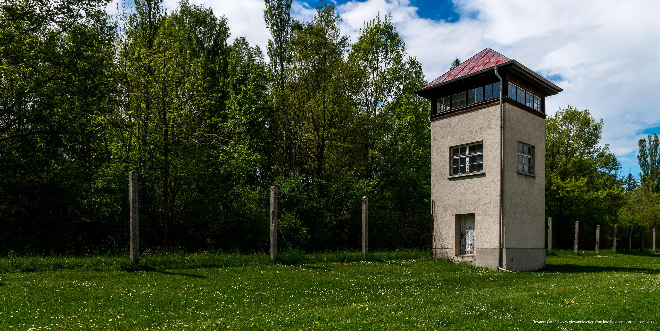 Torre di guardia del campo di concentramento di Dachau