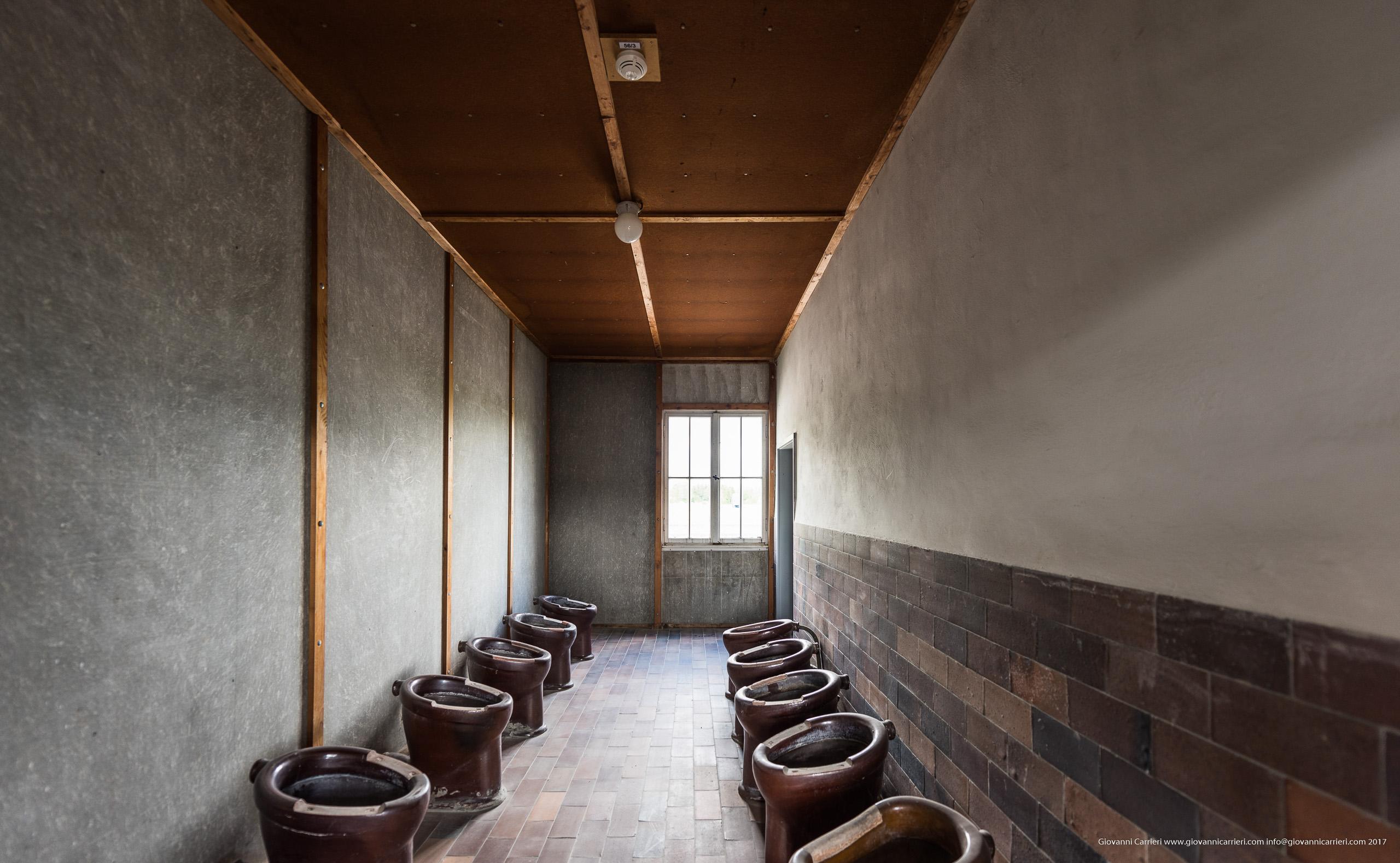 I gabinetti di Dachau