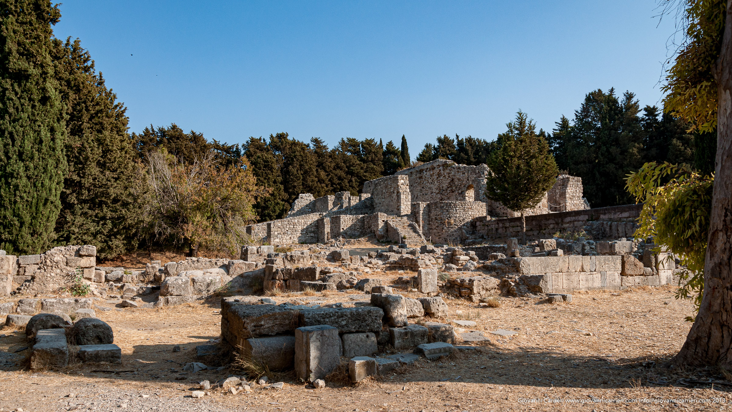 I bagni dell'Asclepeion - Kos