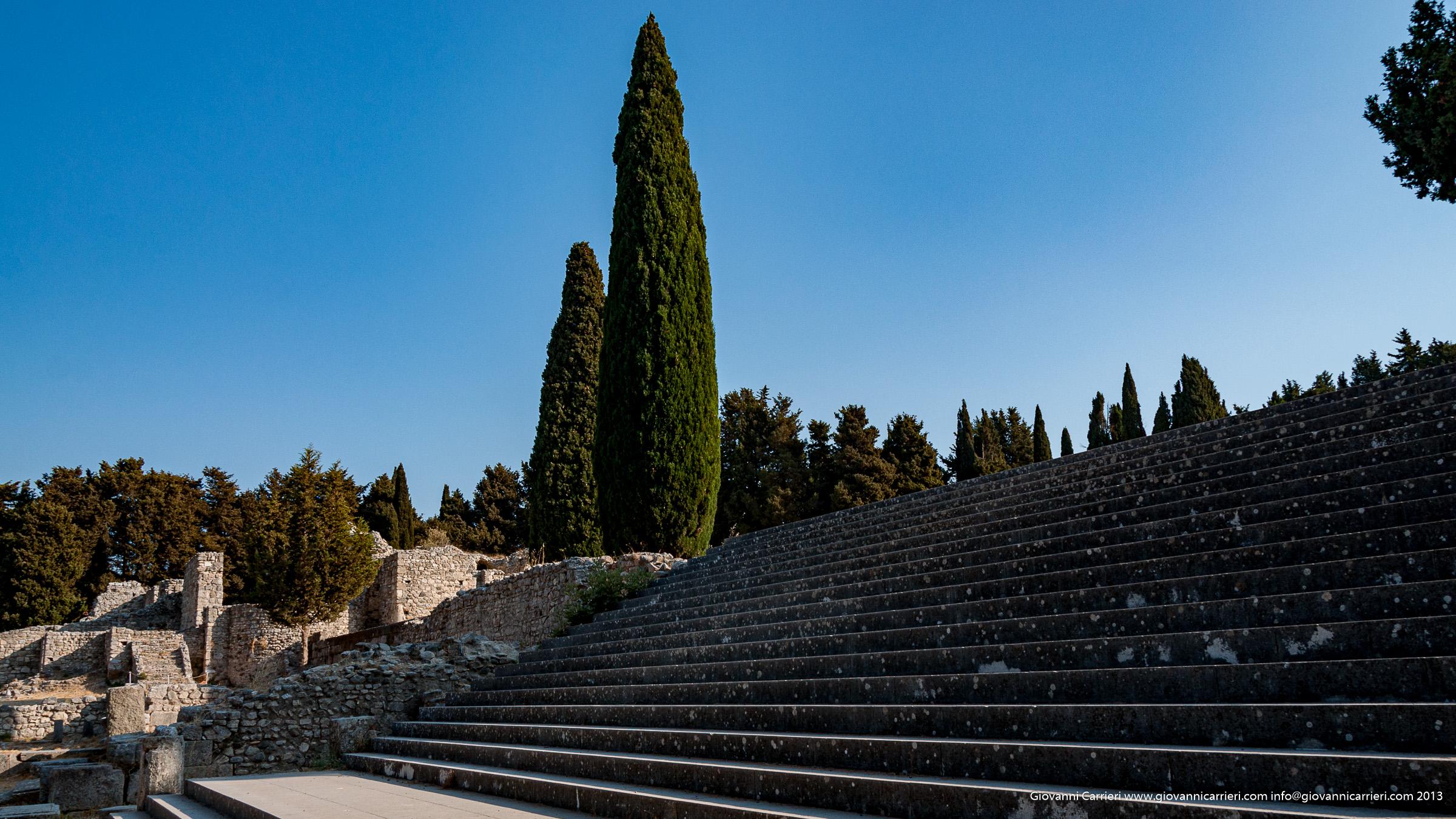 Le scalinate del propileo del tempio di Asclepio - Kos