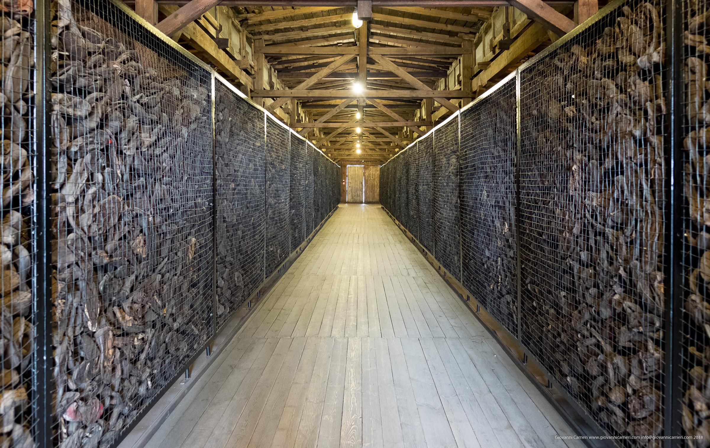 Le scarpe delle vittime di Majdanek