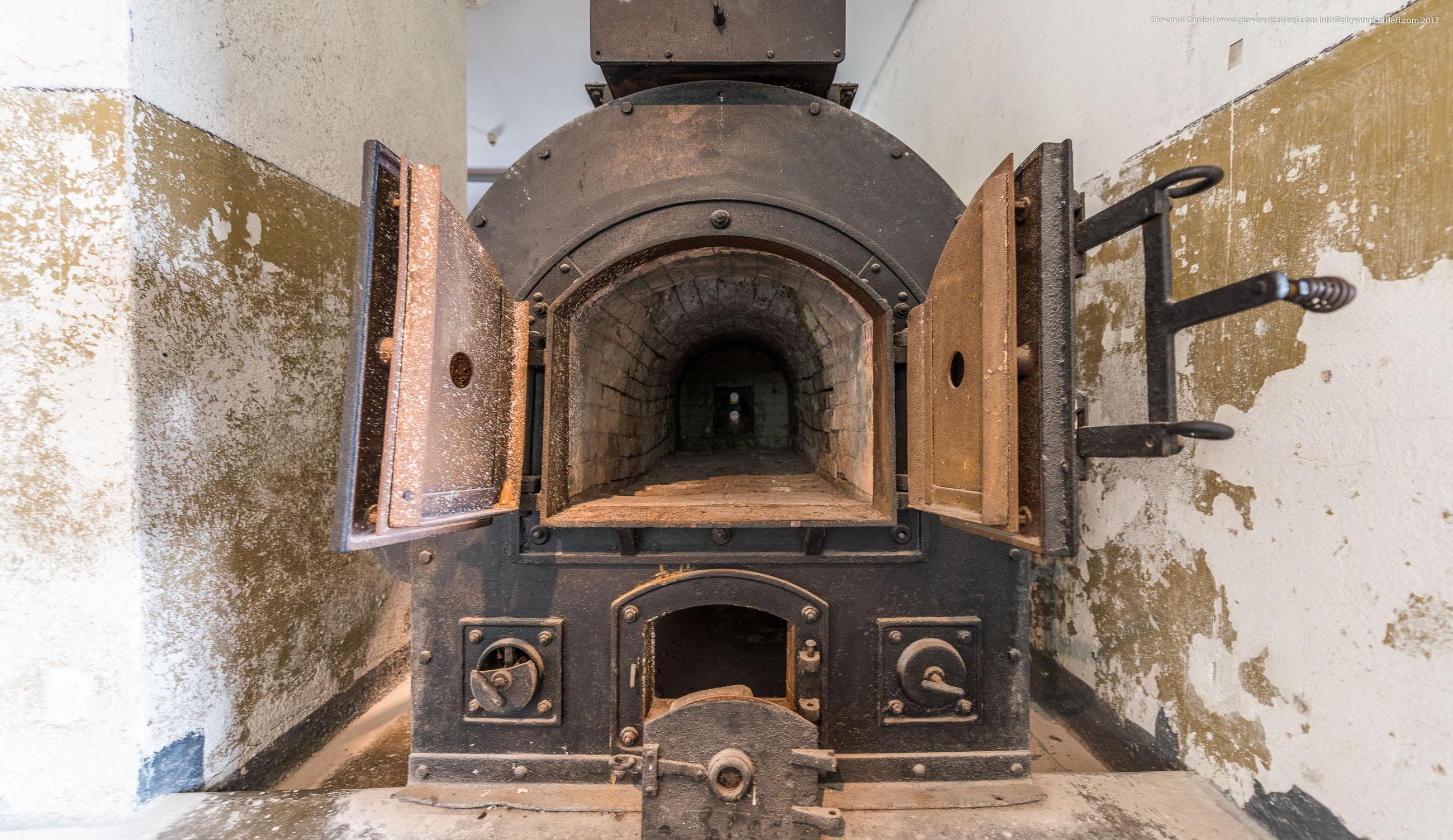 Il forno del crematorio. Mittelbau-Dora