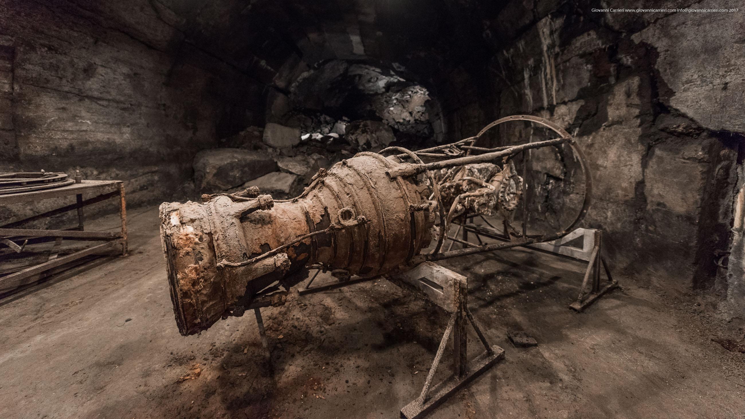 Il razzo di un missile V2, Mittelbau-Dora