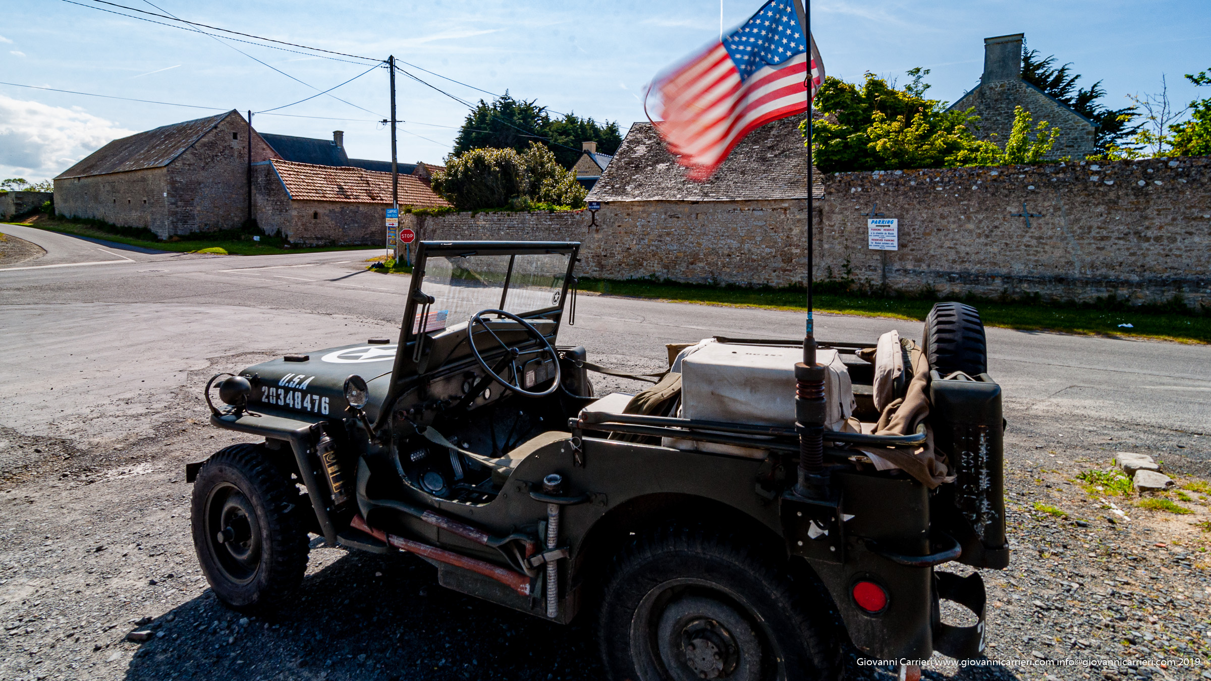 Jeep Willys MB used during World War 2