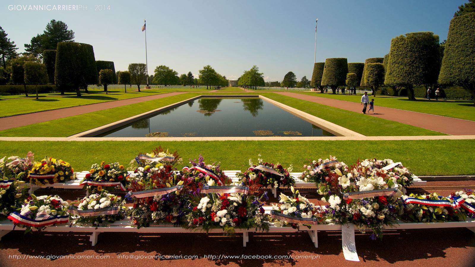 Il cimitero memoriale americano ad Omaha beach