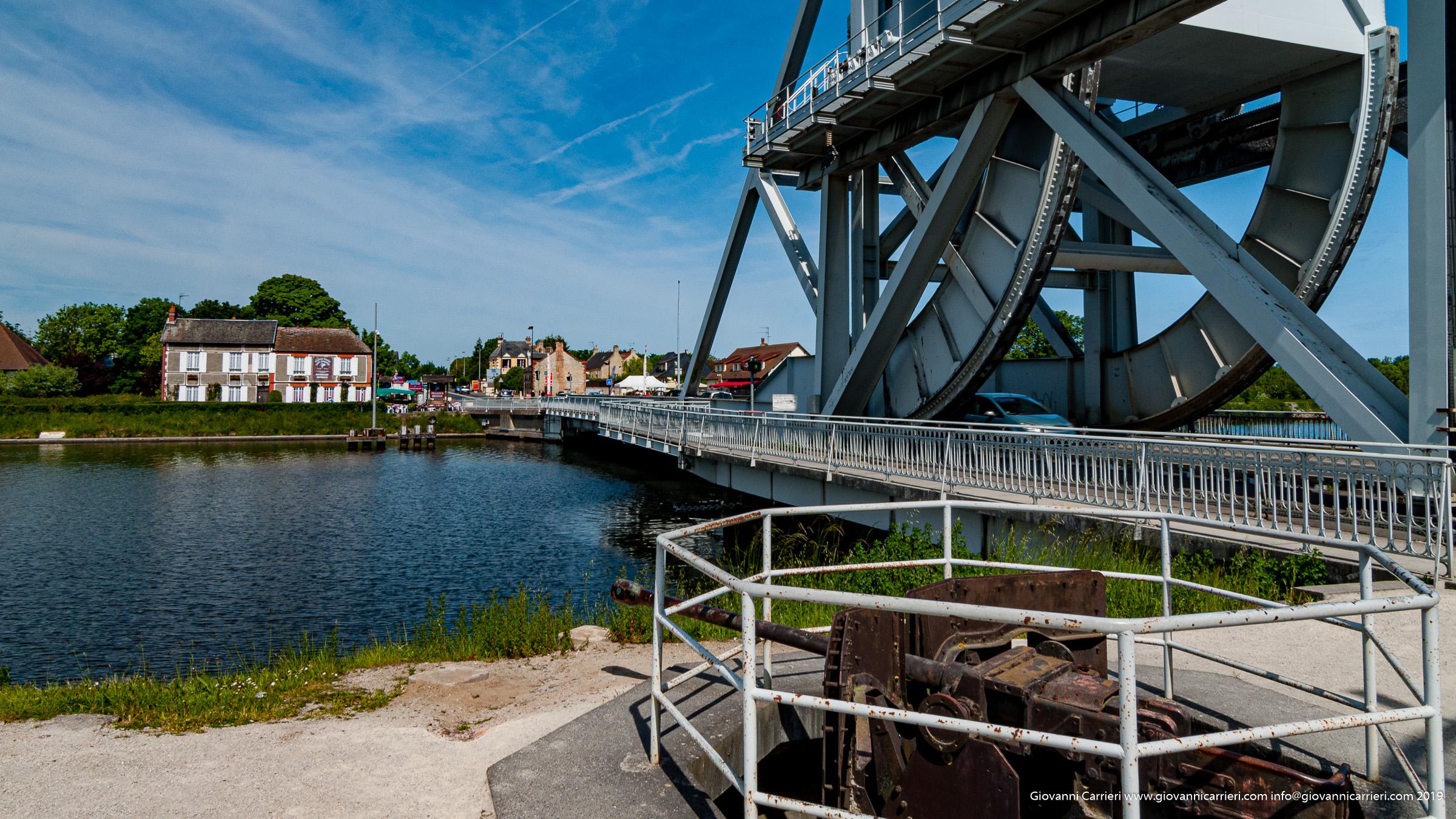 Il ponte Pegasus vicino la città di Ouistreham - Operazione Deadstick
