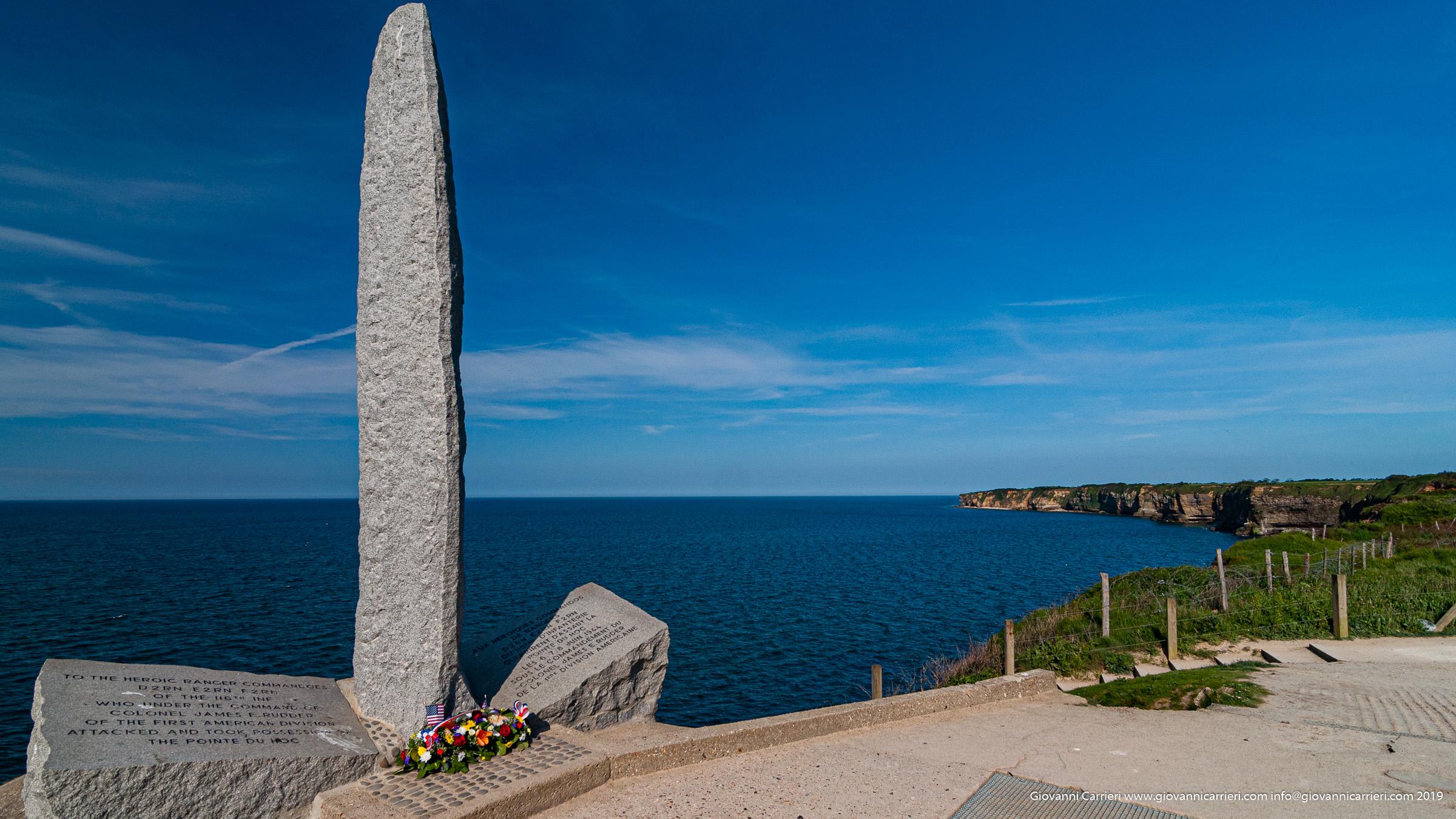Il monumento di Point du hoc