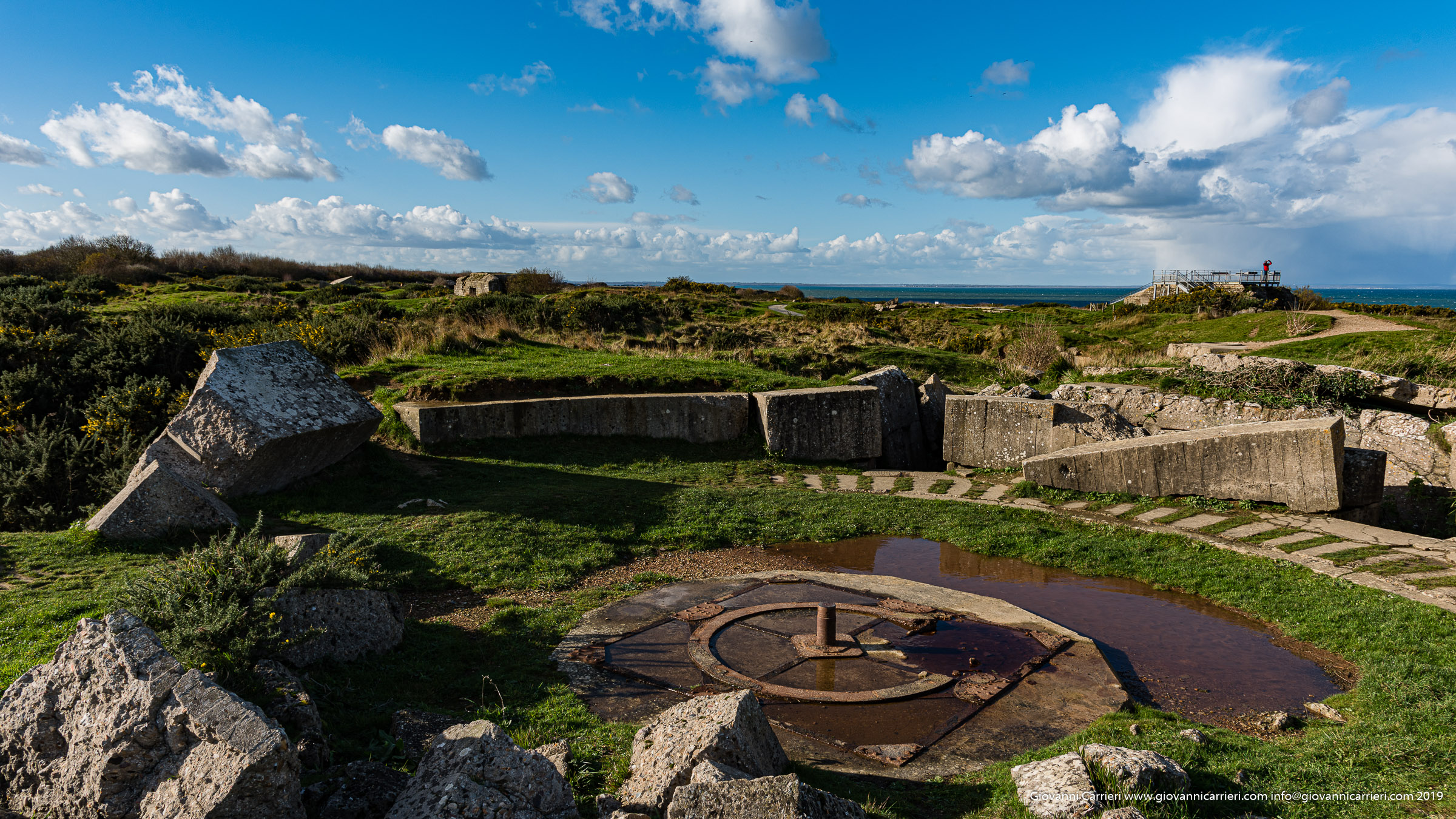 Battle of Pointe du Hoc - Operation Overlord - plots artillery