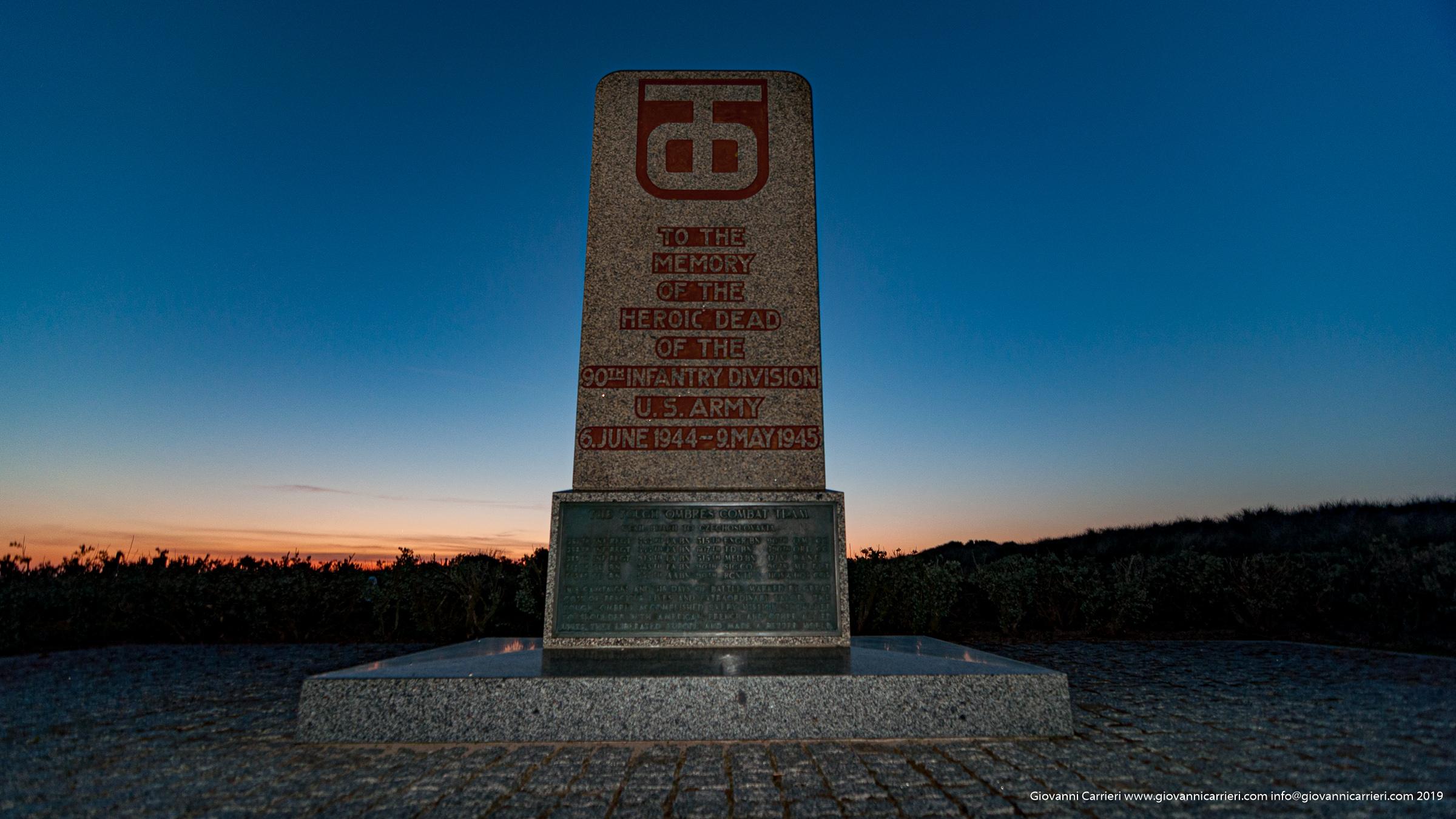 Memoriale ad Utah dedicato alla 90th divisione di fanteria