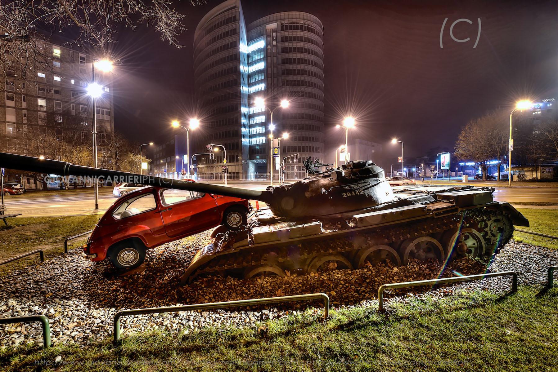 L'incrocio di via Vukovarska - Osijek