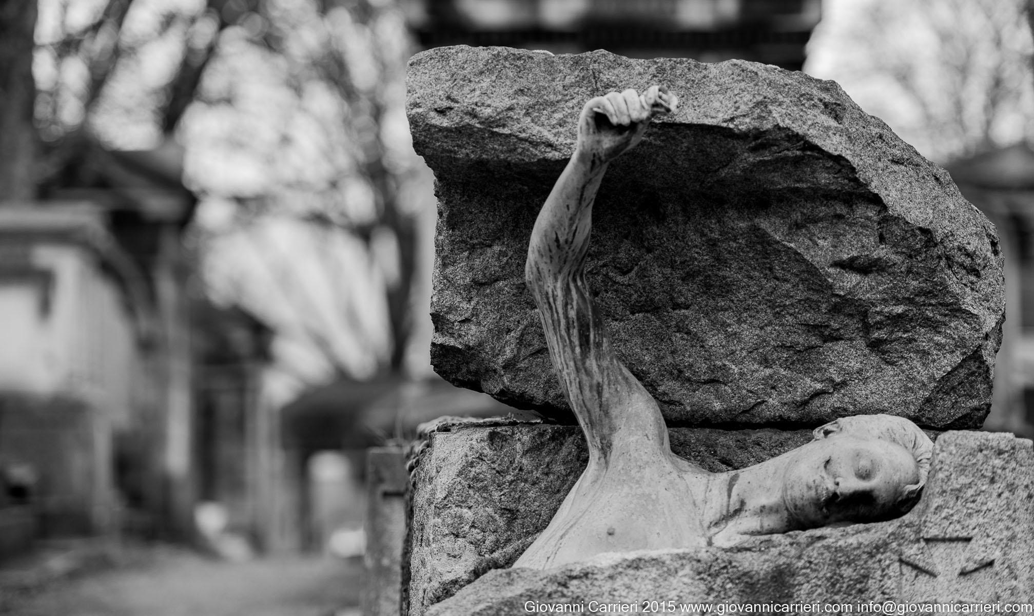 La tomba di Georges Rodenbach