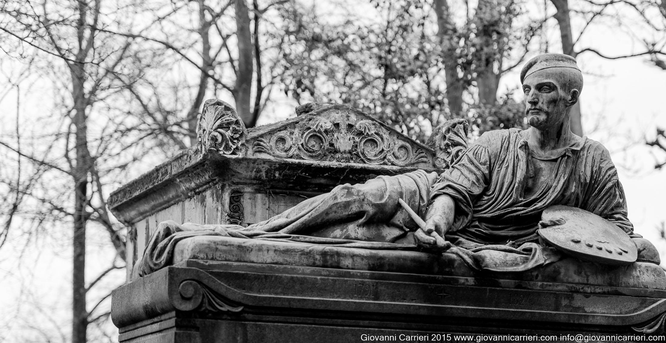 La tomba di Jean-Louis André Théodore Géricault