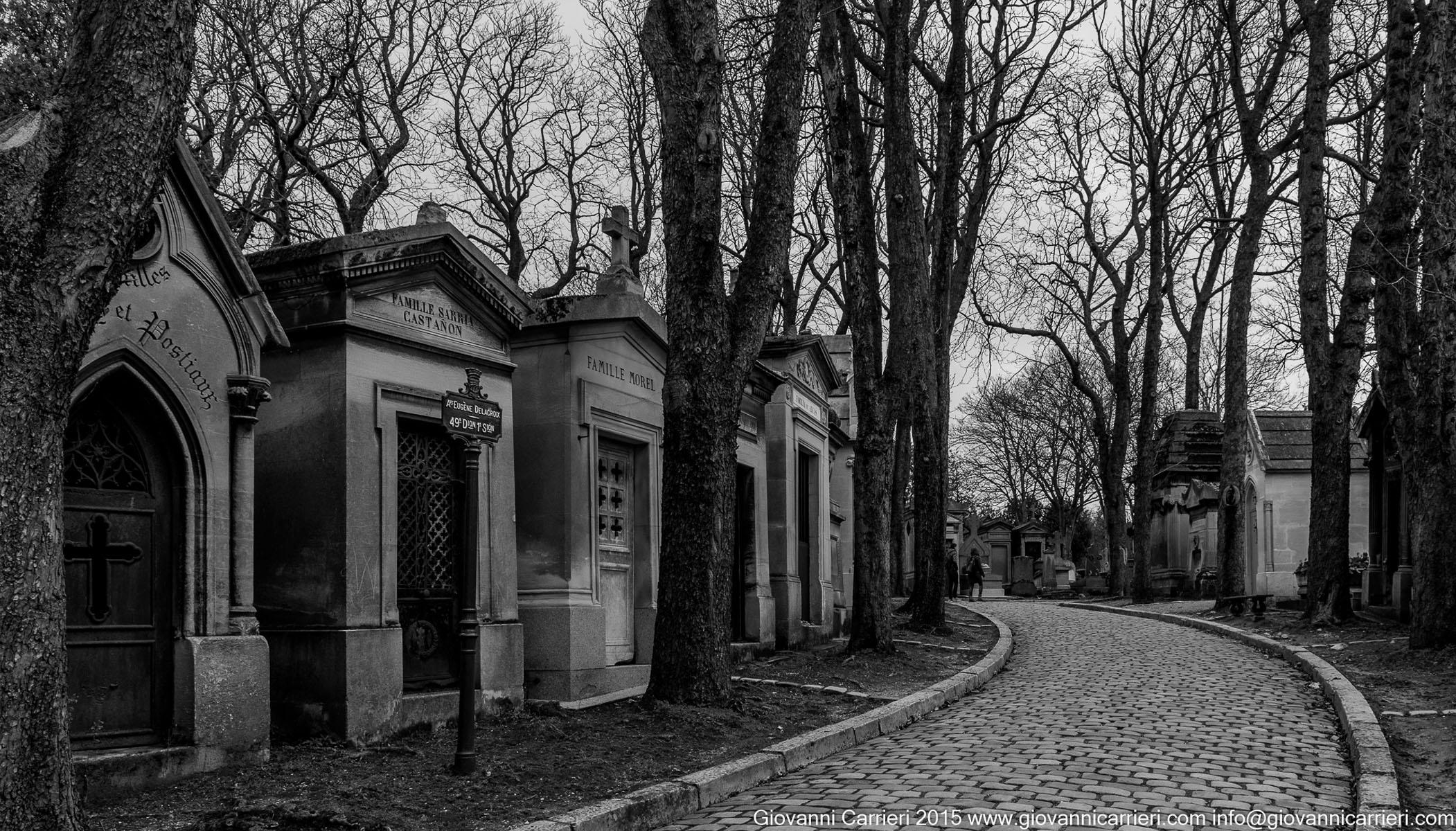Le strade del Père-Lachaise