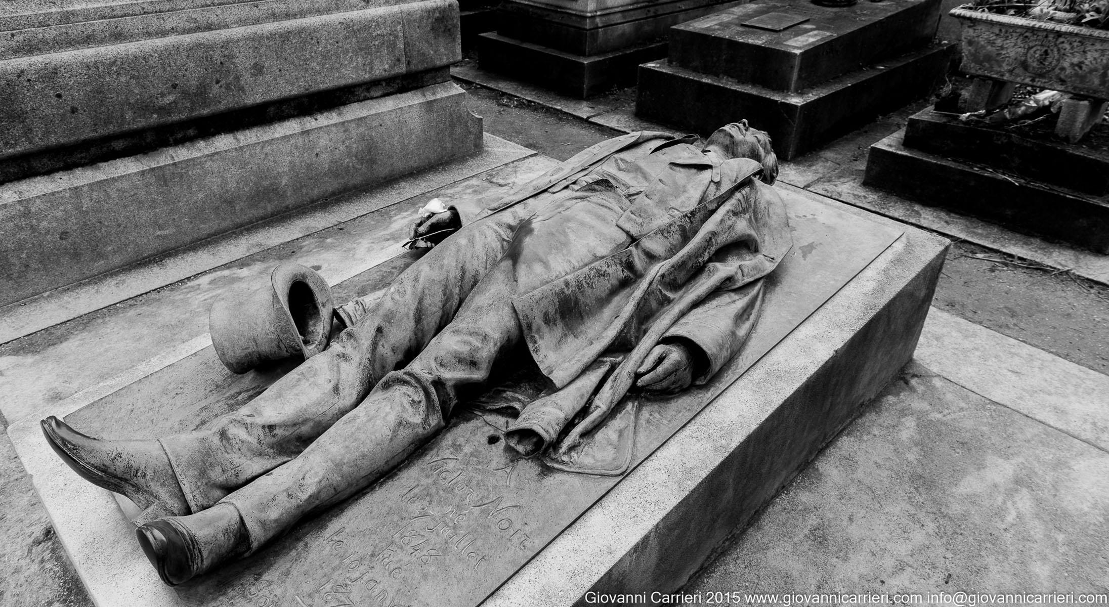 La tomba di Victor Noir