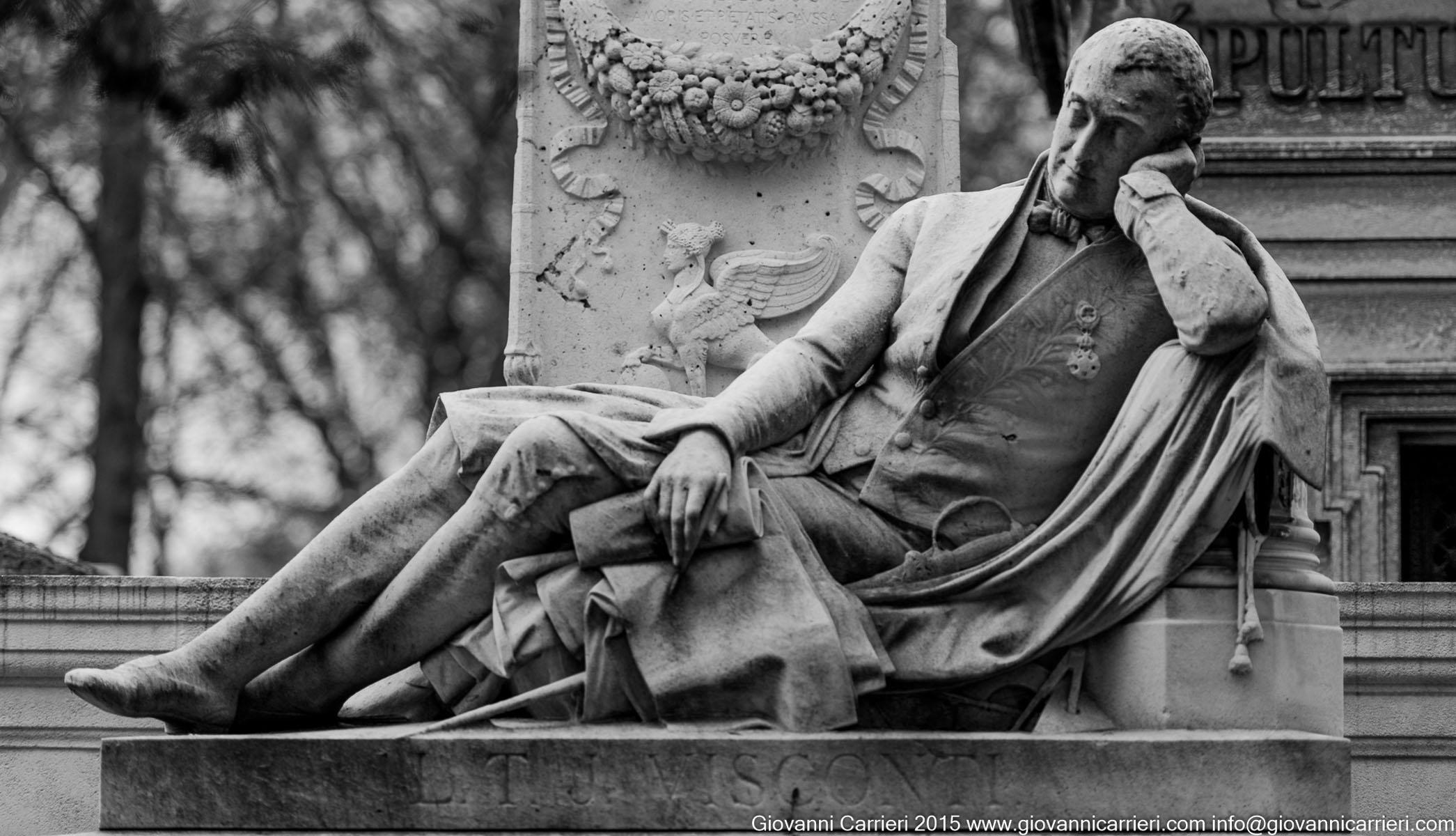 La tomba di Luis Visconti