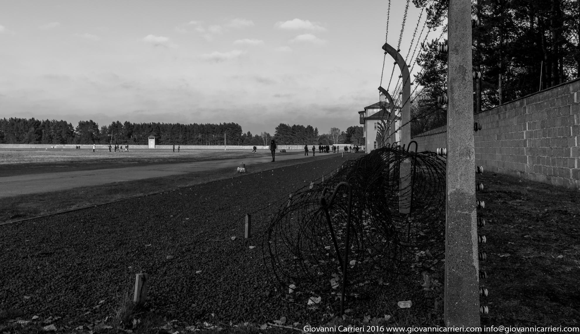 Il perimetro di sicurezza ricostruito  Sachsenhausen