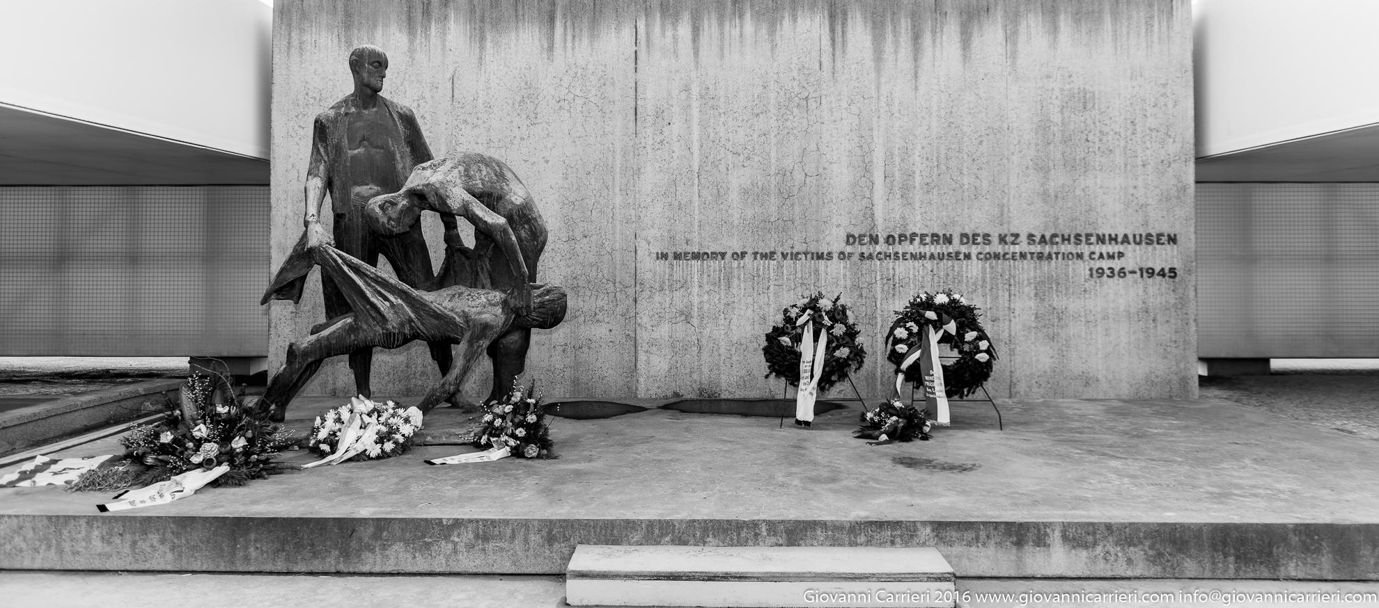 Il memoriale presso le camere a gas