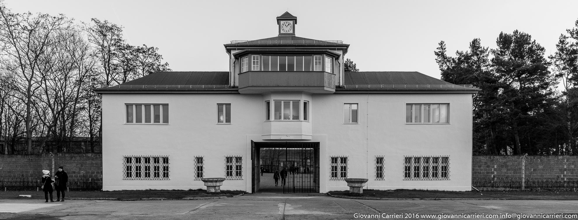 La appelplatz di Sachsenausen