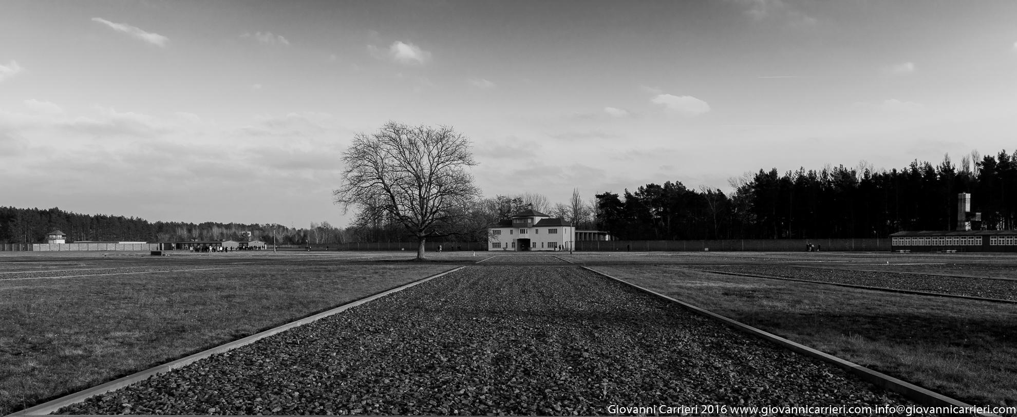 La Appelplatz di Sachsenhausen