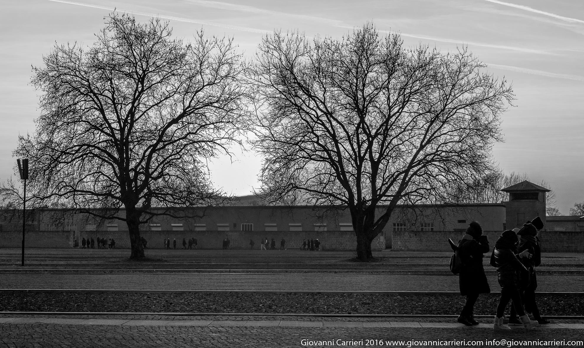 L'area del campo di concentramento