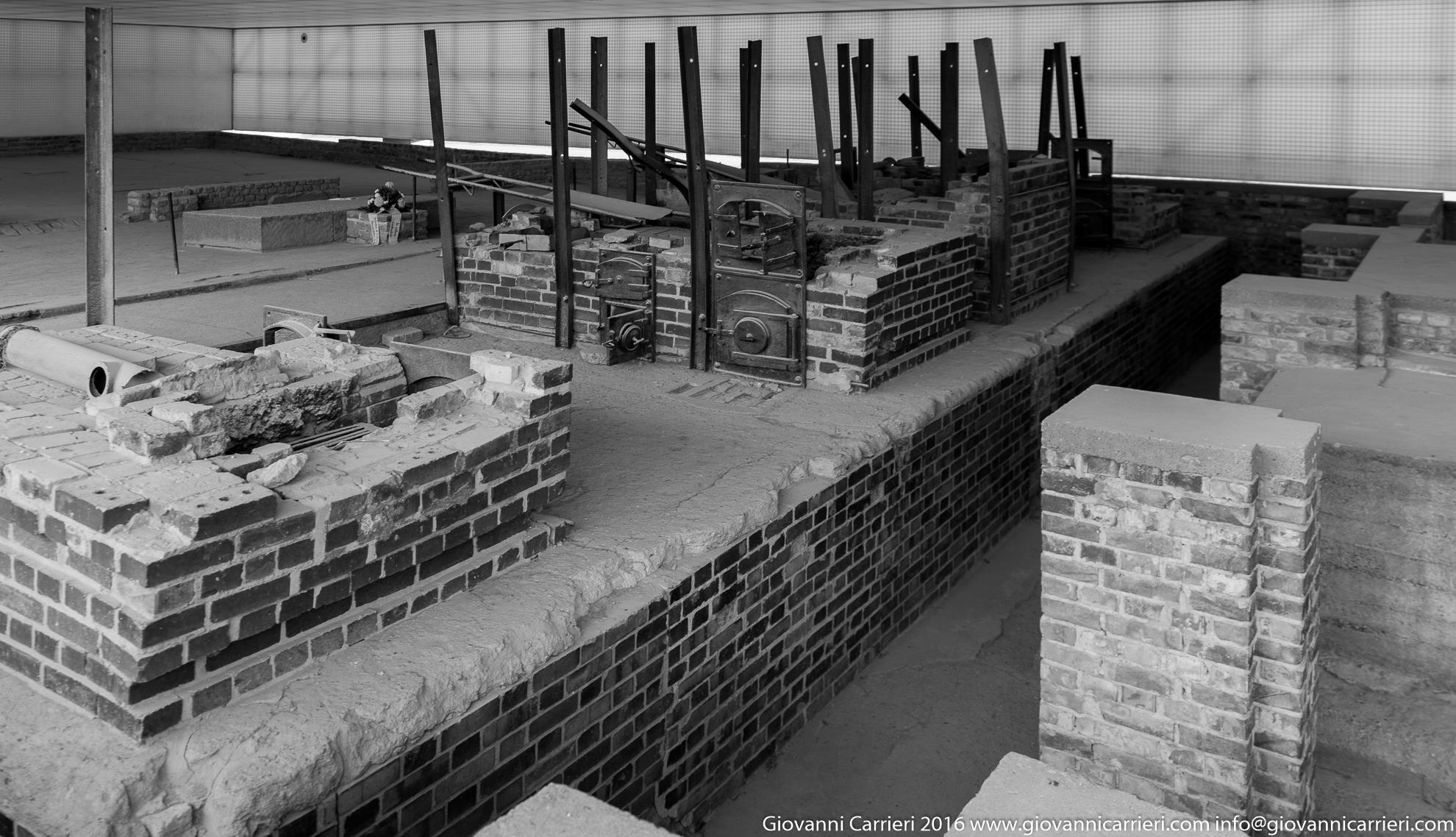 Il crematorio di Sachsenhausen