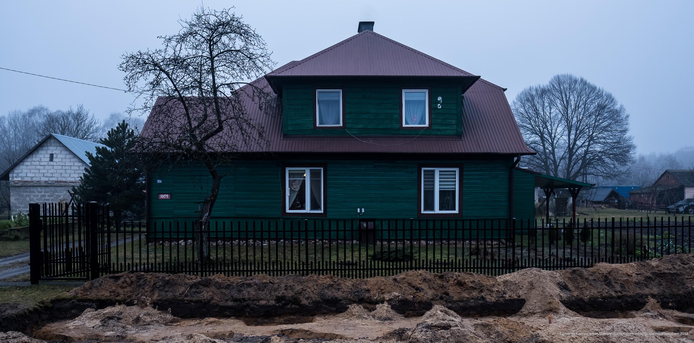 Autentica casa delle SS operanti nel campo di sterminio di Sobibór