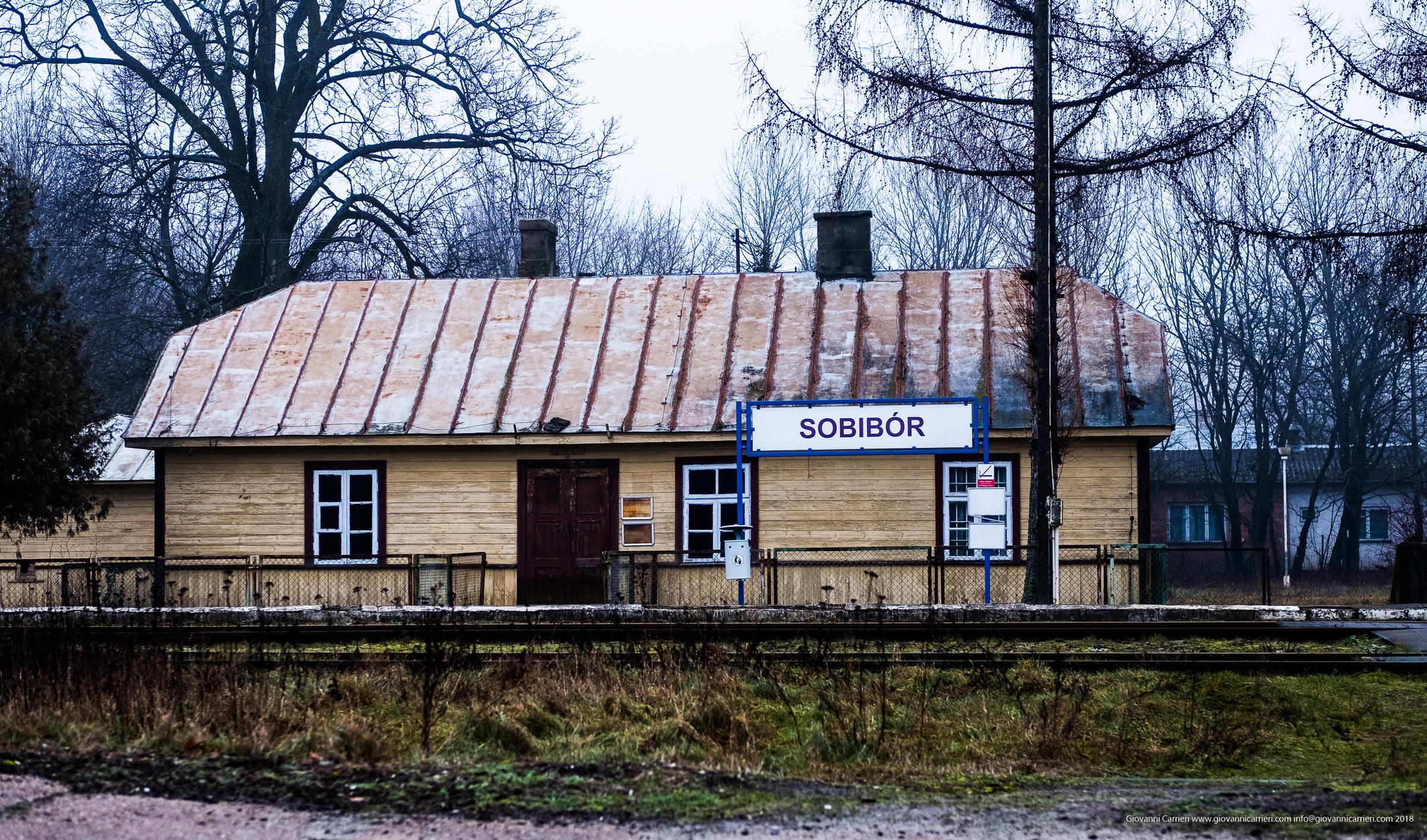 La stazione ferroviaria di Sobibór