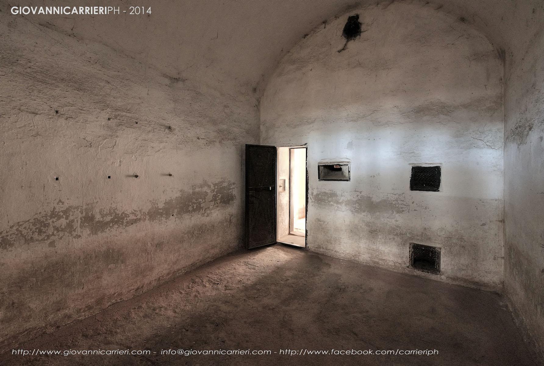 Dentro una cella di Isolamento - Theresienstadt