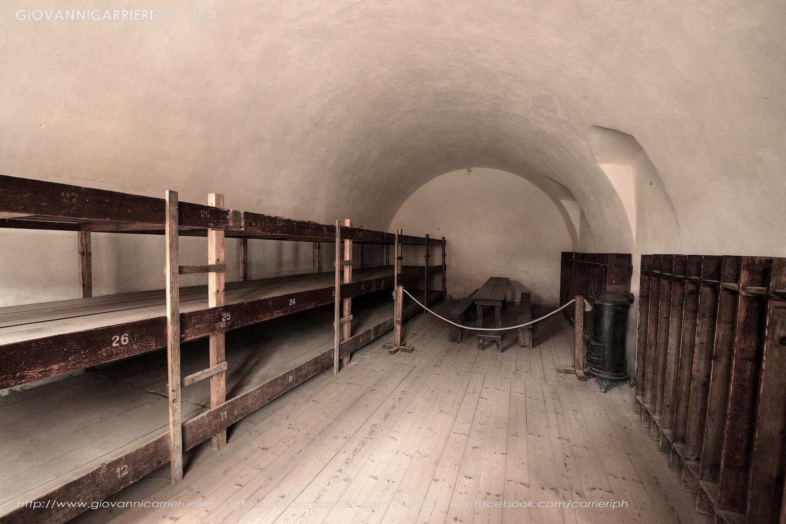 Le celle comuni del Blocco A - Theresienstadt
