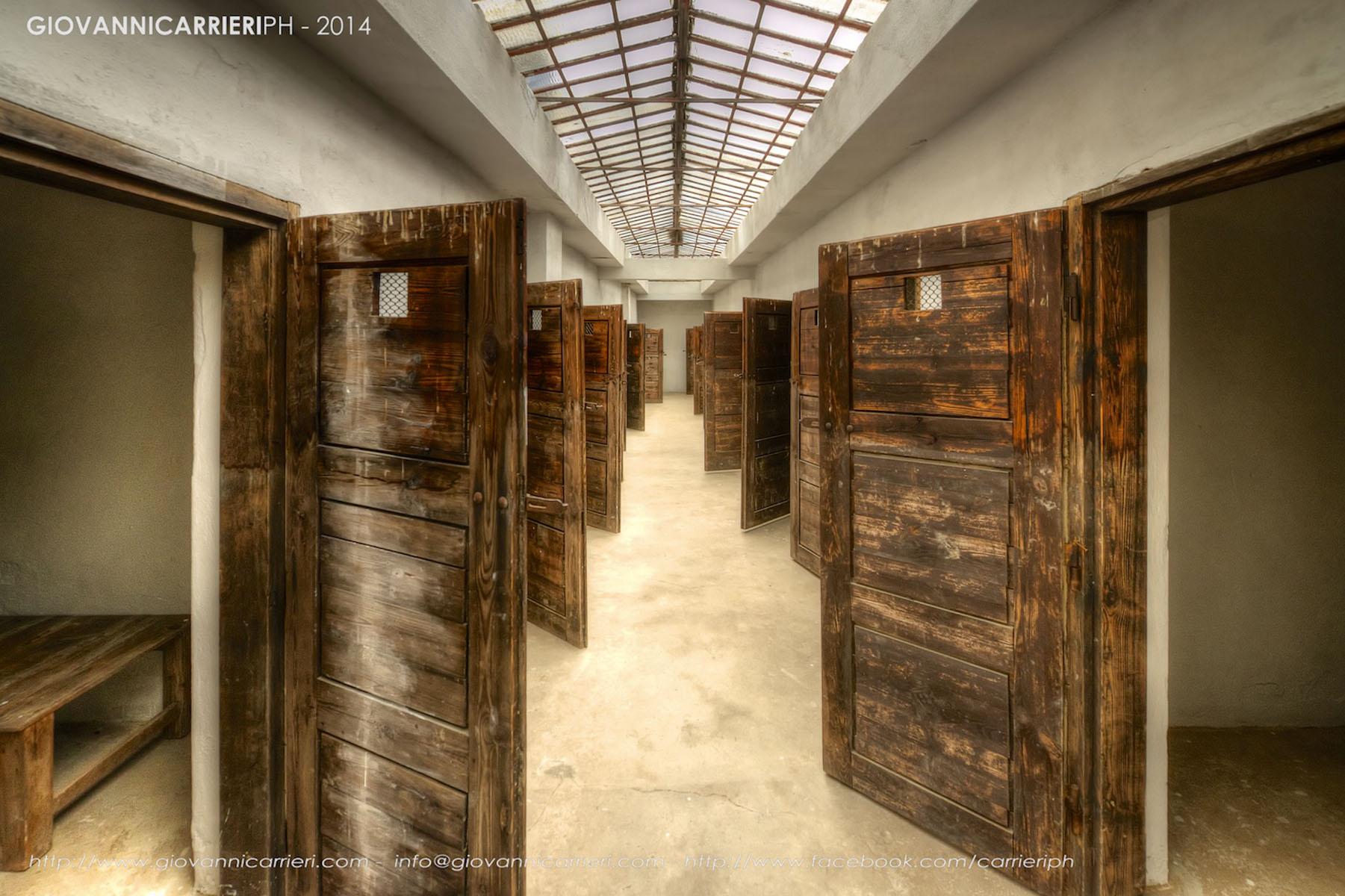 Celle di detenzione del quarto cortile - Theresienstadt