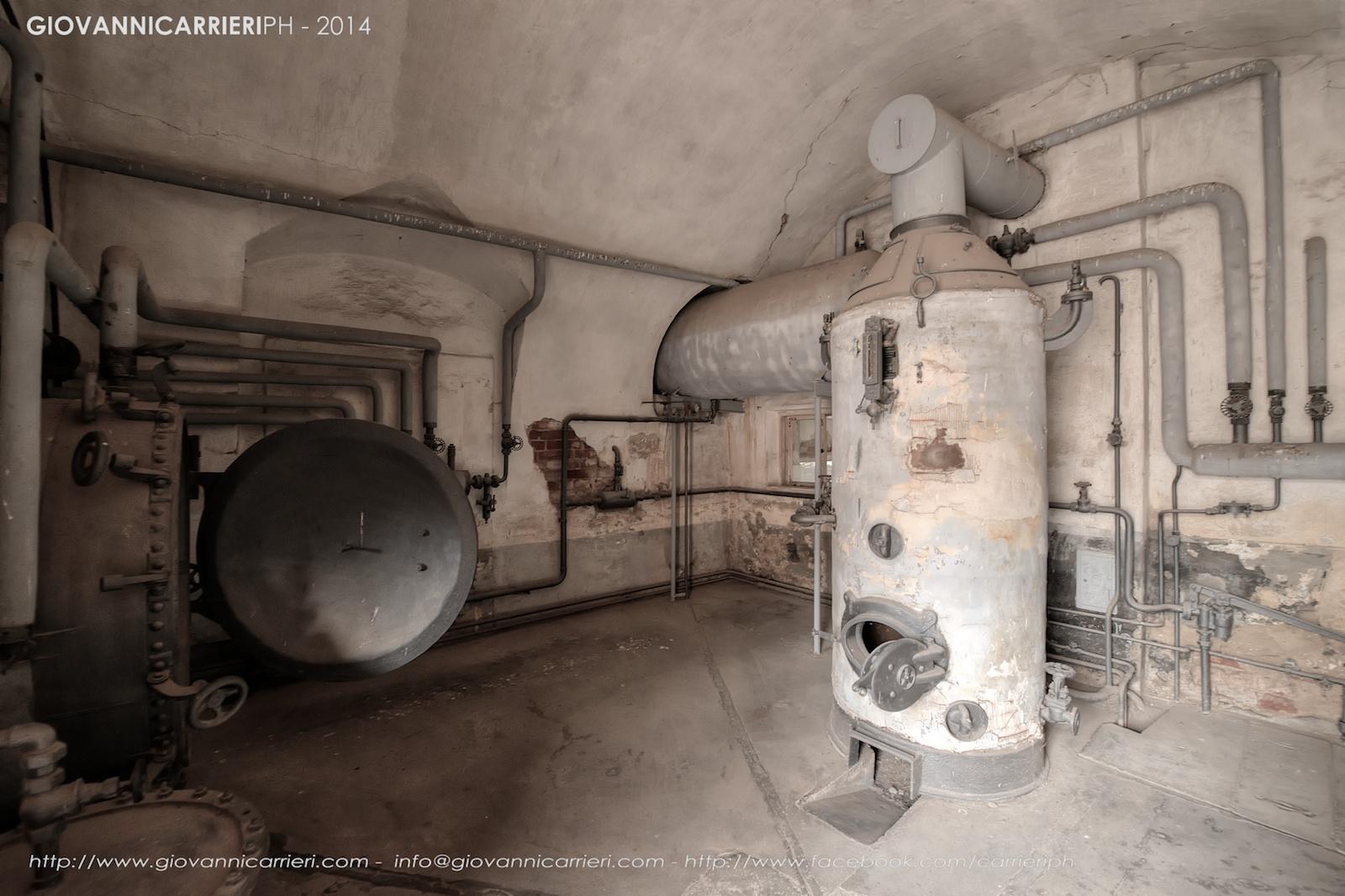 La camera di disinfestazione - Theresienstadt