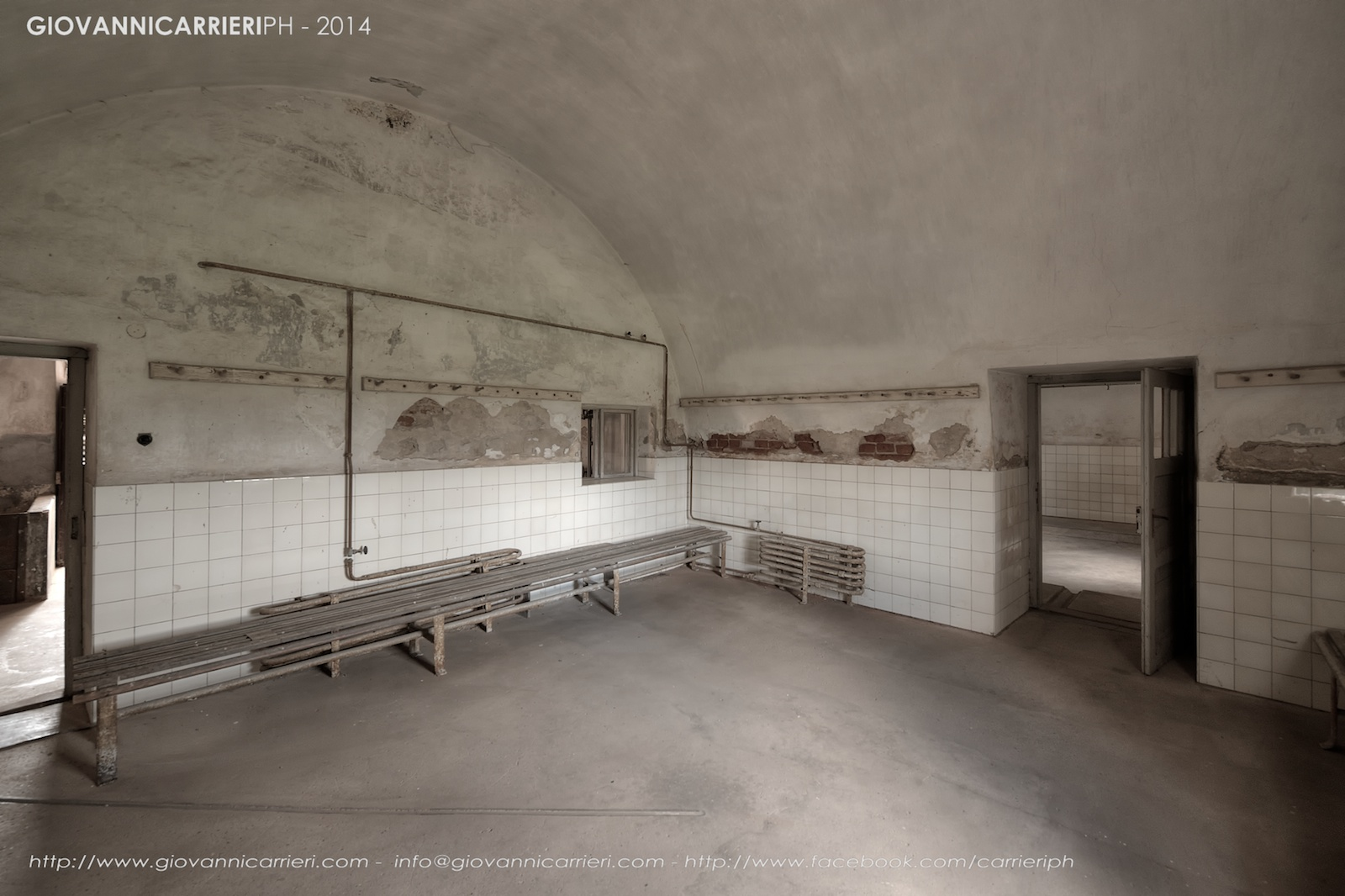 Lo spogliatoio - Theresienstadt