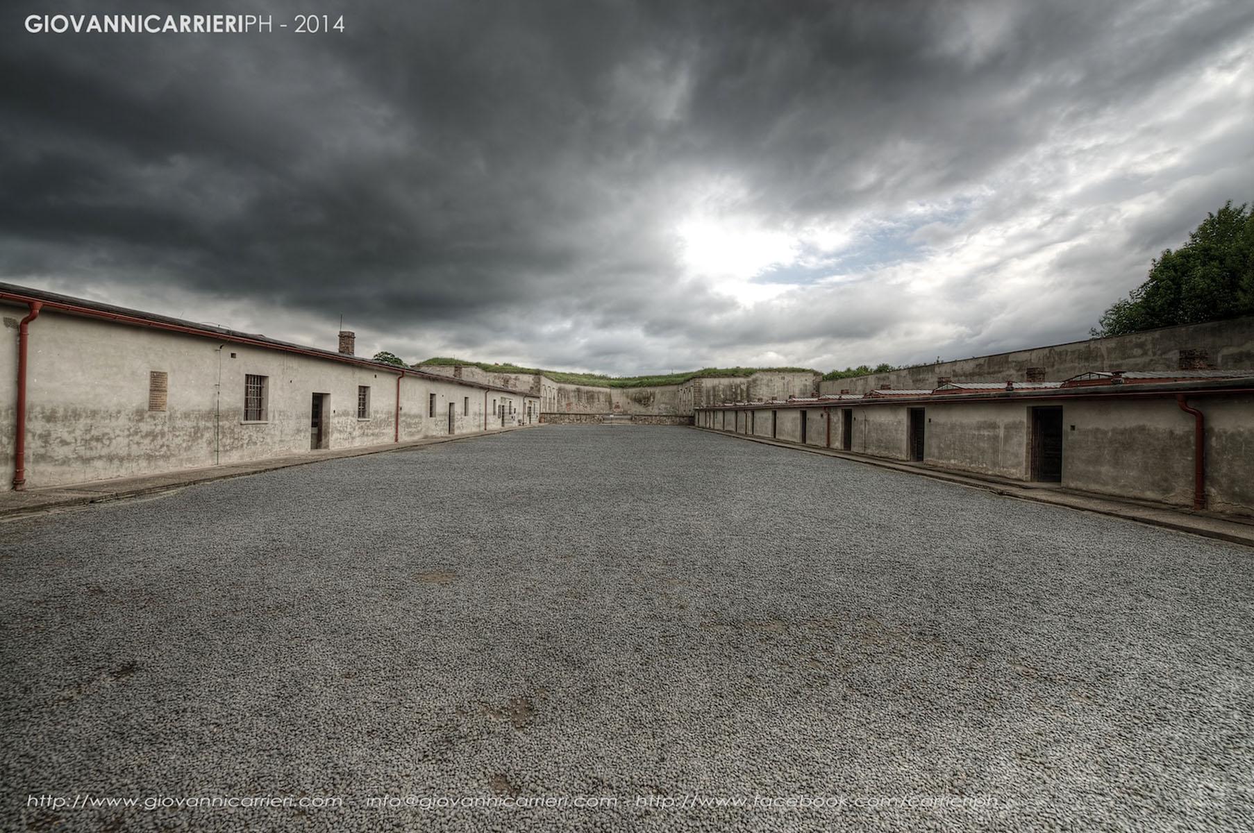 Il quarto cortile - Theresienstadt